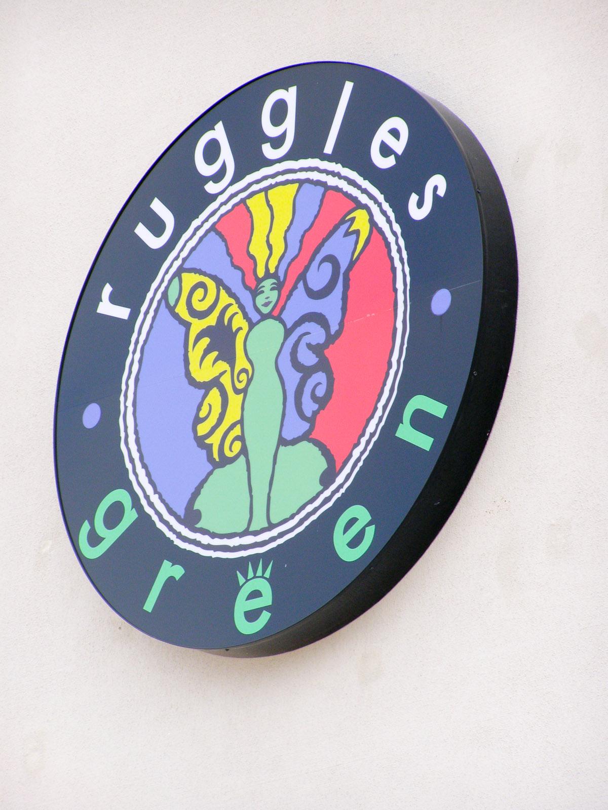 News_Ruggles Green logo_sign