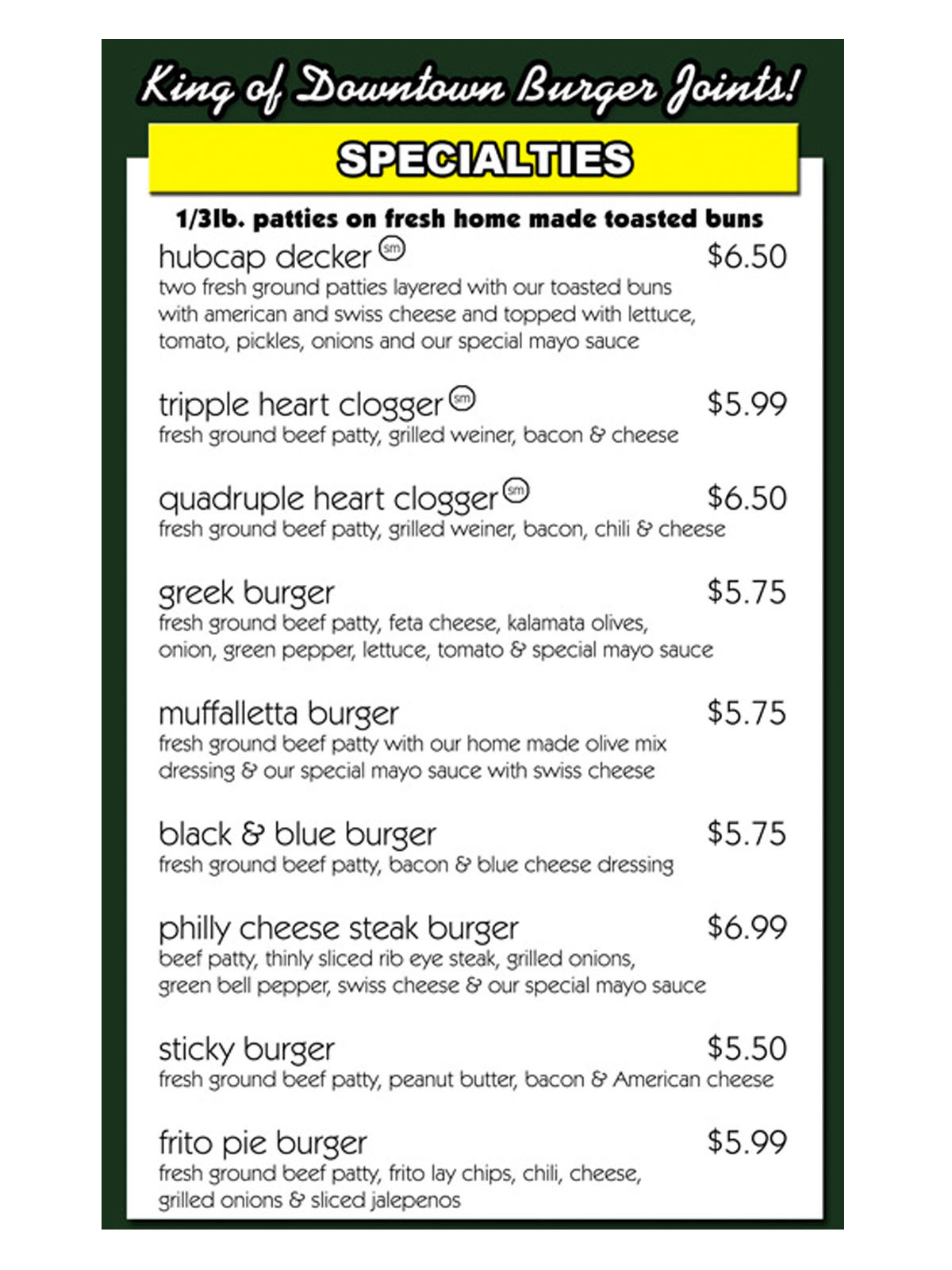 News_Hubcap Grill_menu