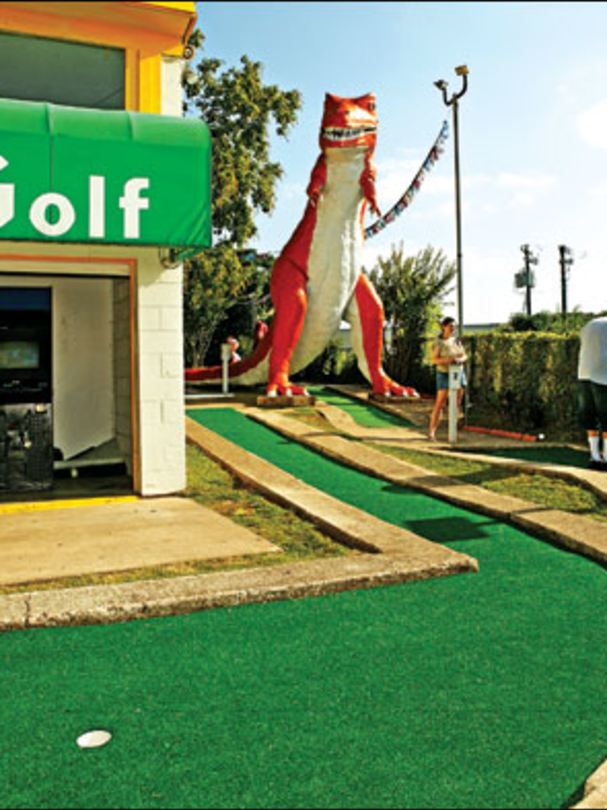 Austin_photo: places_outdoors_peter pan mini golf_trex