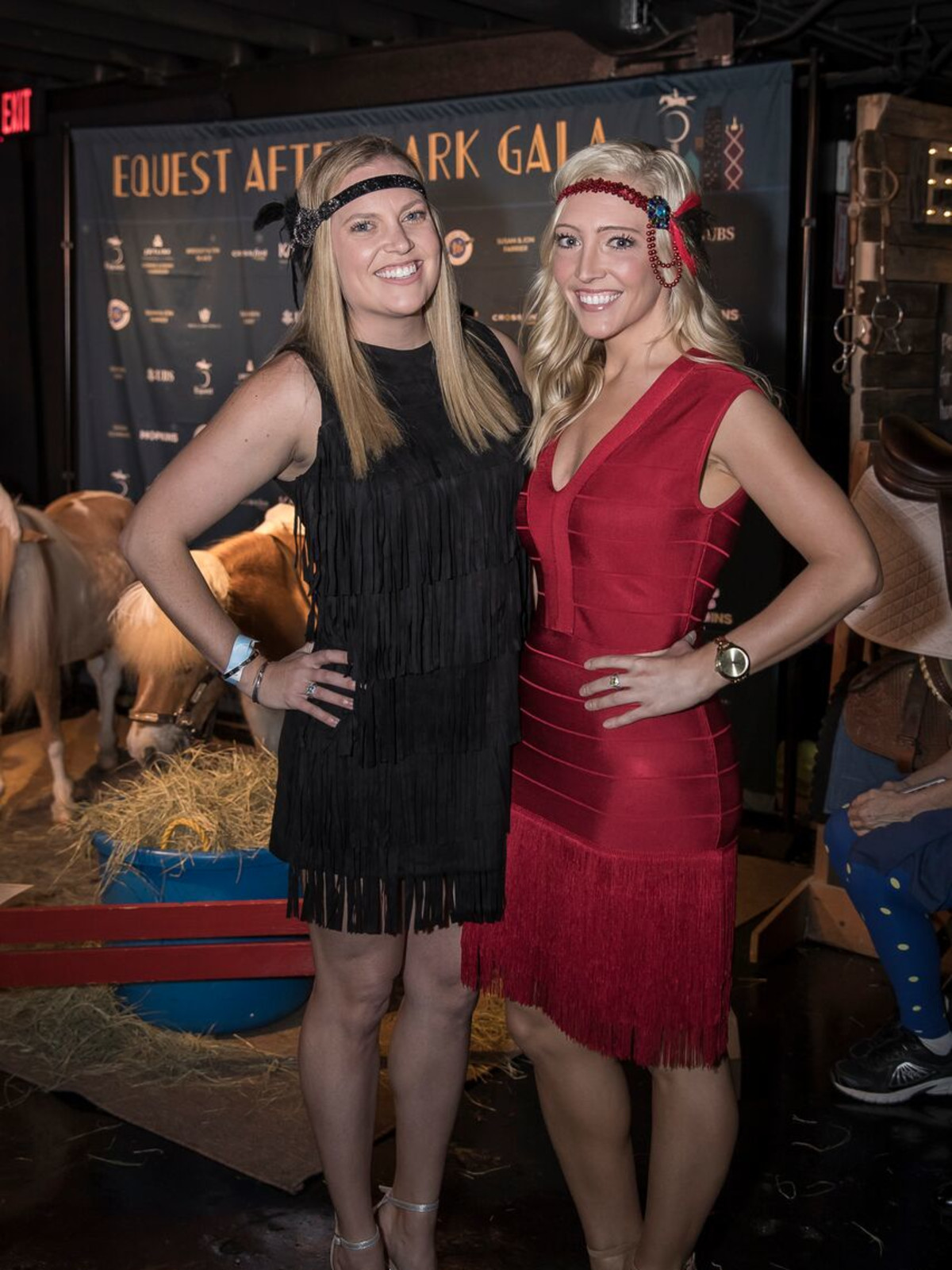 Equest After Dark Gala 2018, Meredith Matthews, Laura Lee Lacy