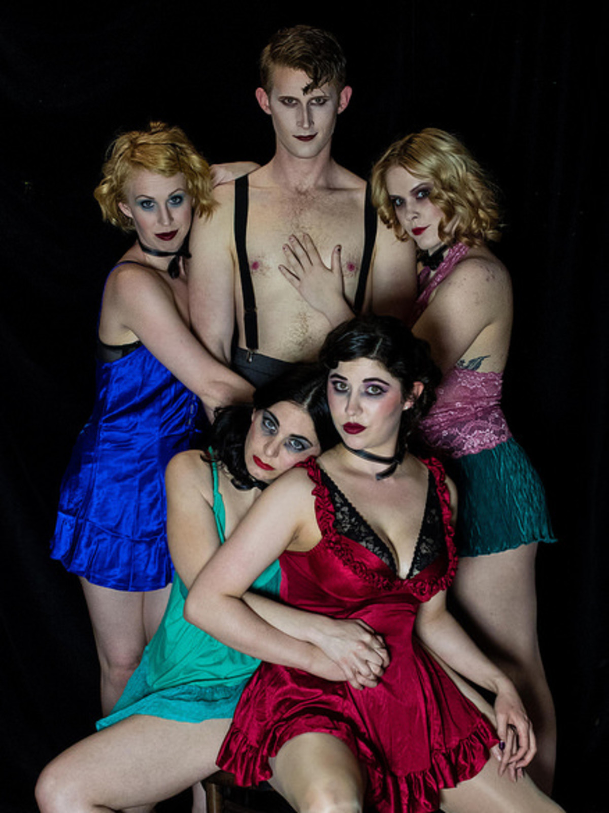 Obsidian Theater-Cabaret Cast