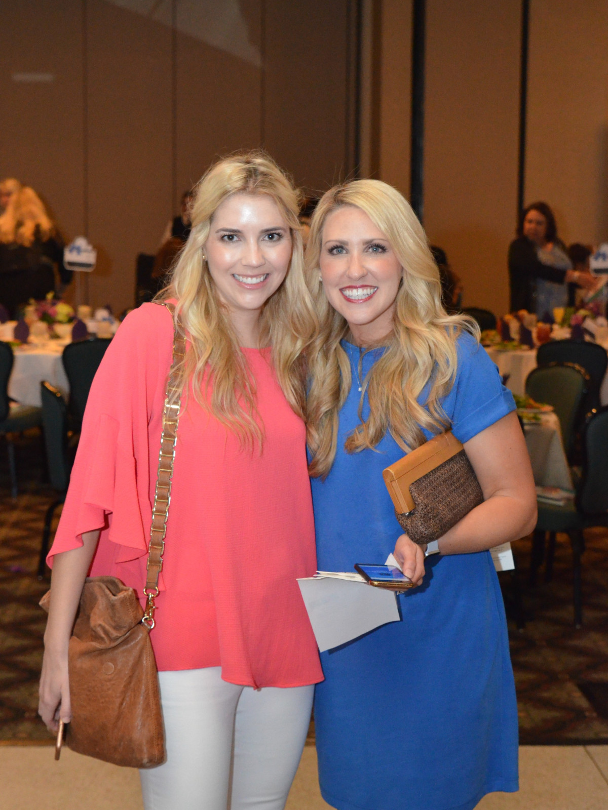 It's in the Bag luncheon 2018, Liz Bateman, Kellee Gray Culberson