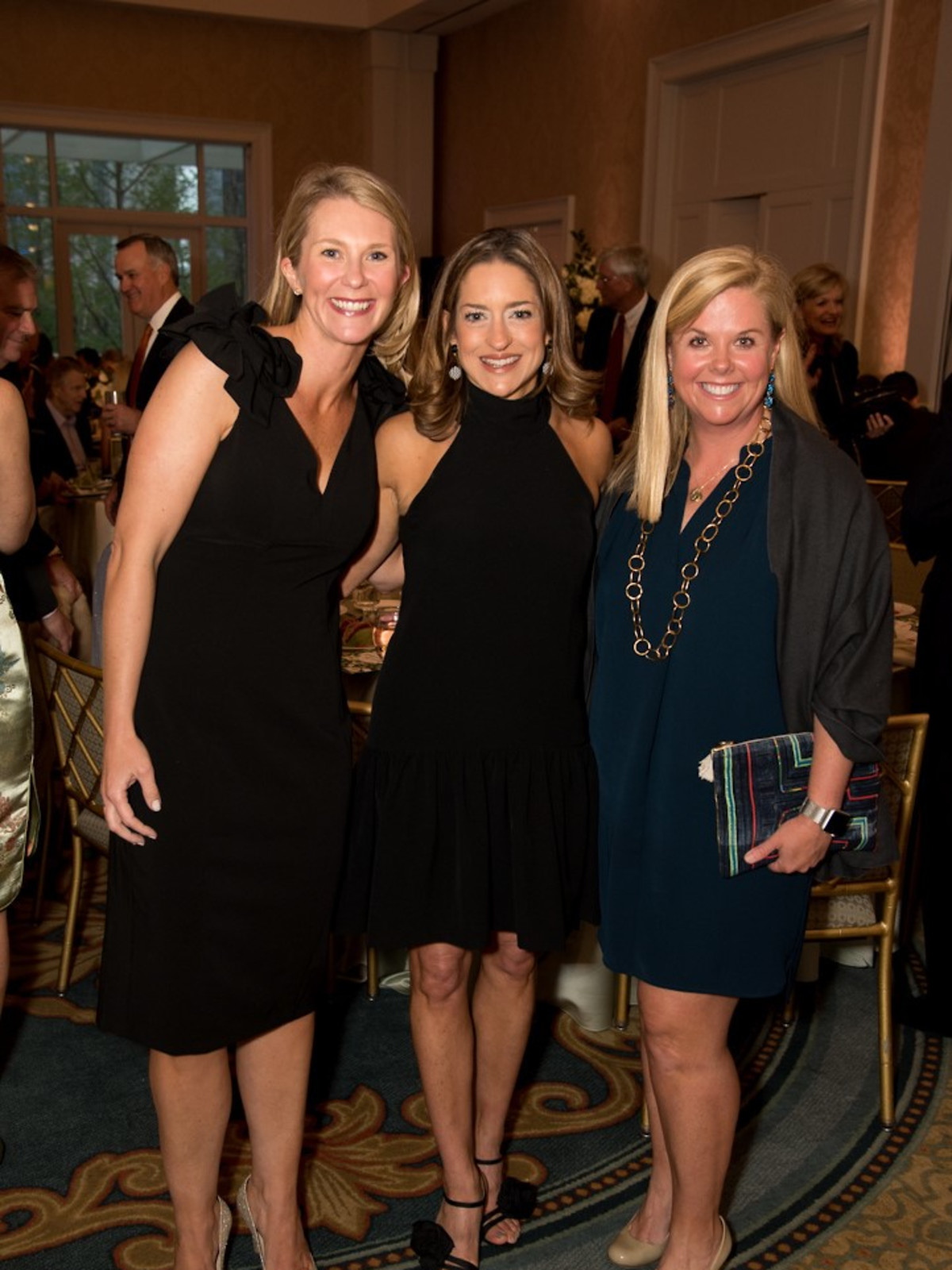 Ronald McDonald gala, Jamie Sowa, April Cook, and Holly Wittorf