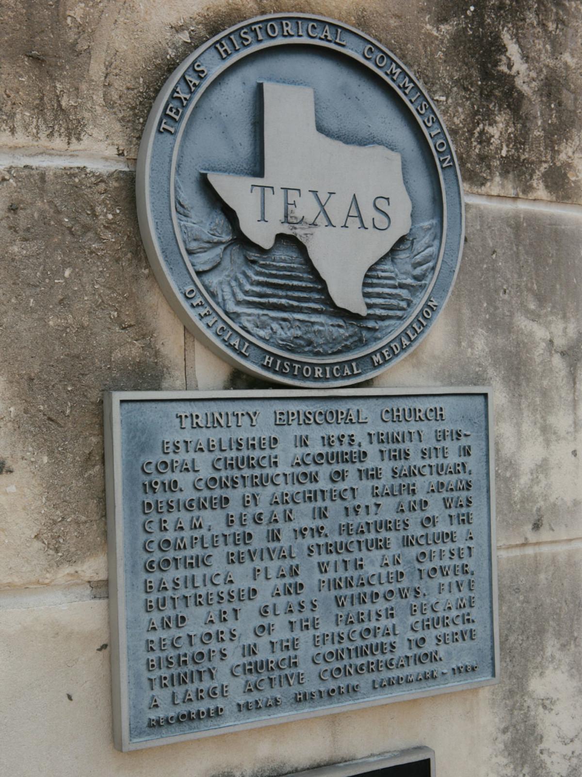 Places-Unique-Trinity Episcopal Church historic marker-1