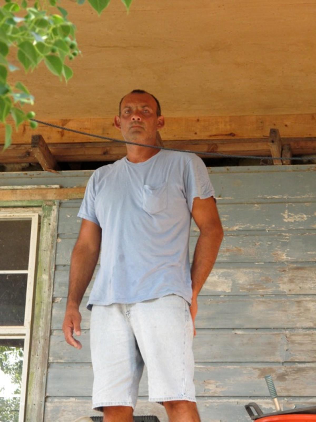 Russell Dardar porch