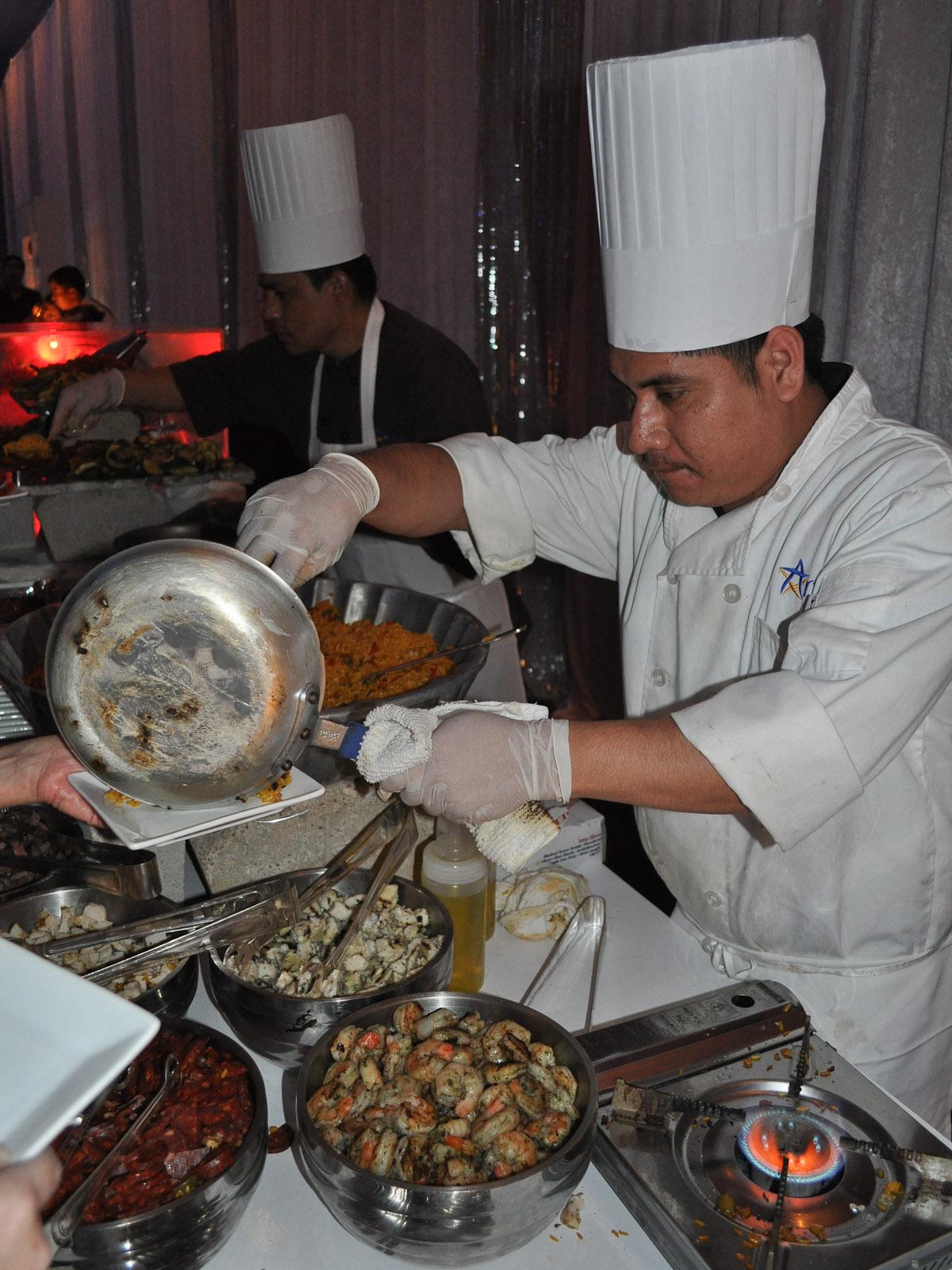 News_Biz Confab Party_cooking