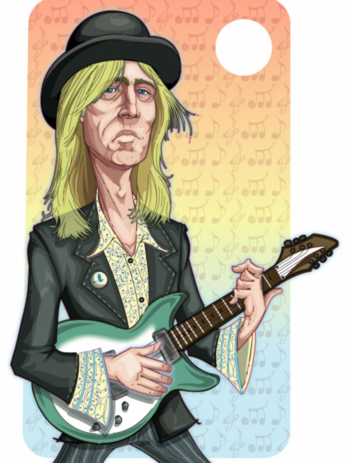 Tom Petty cartoon