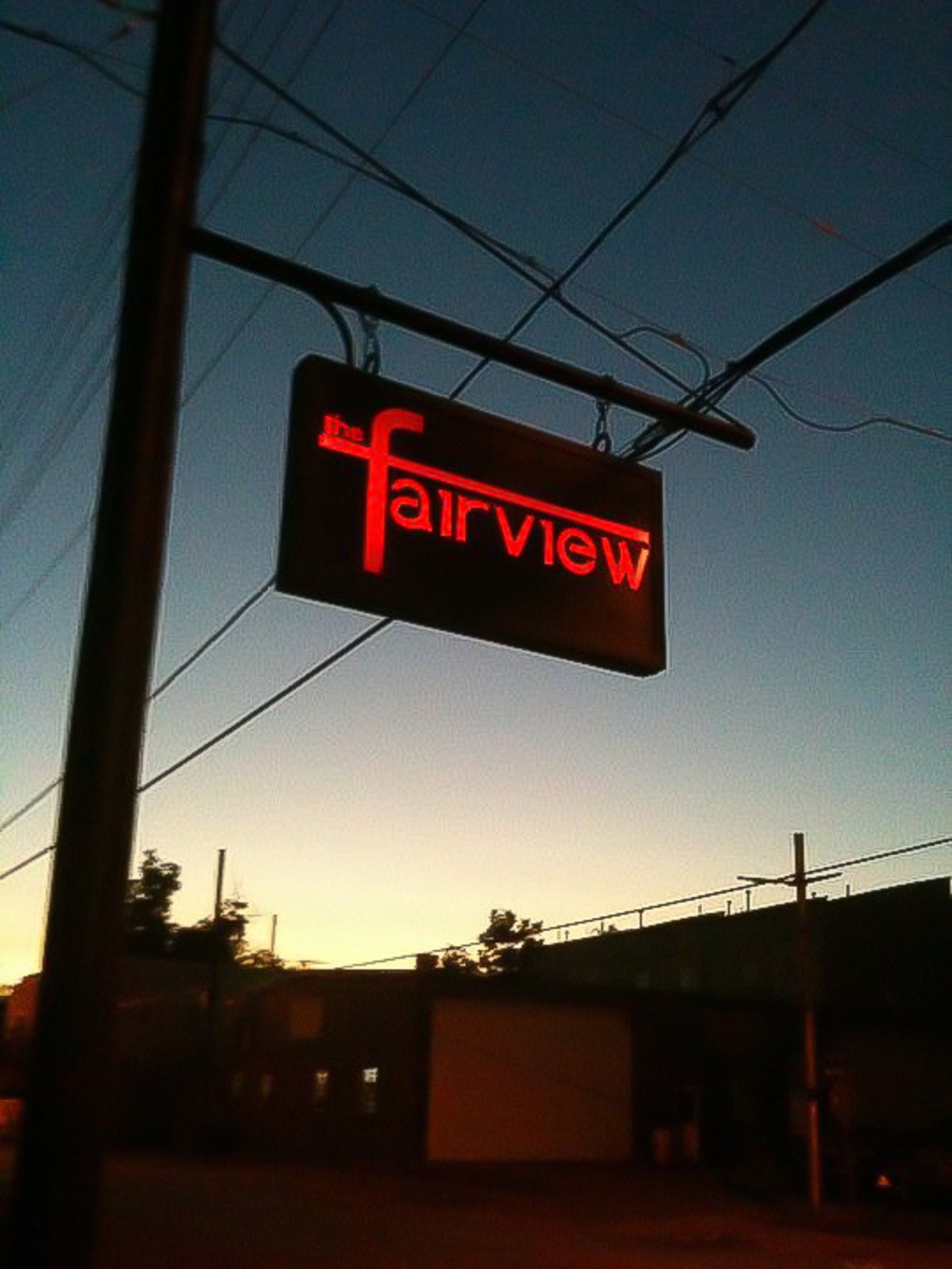 News_The Fairview_bar_neon sign