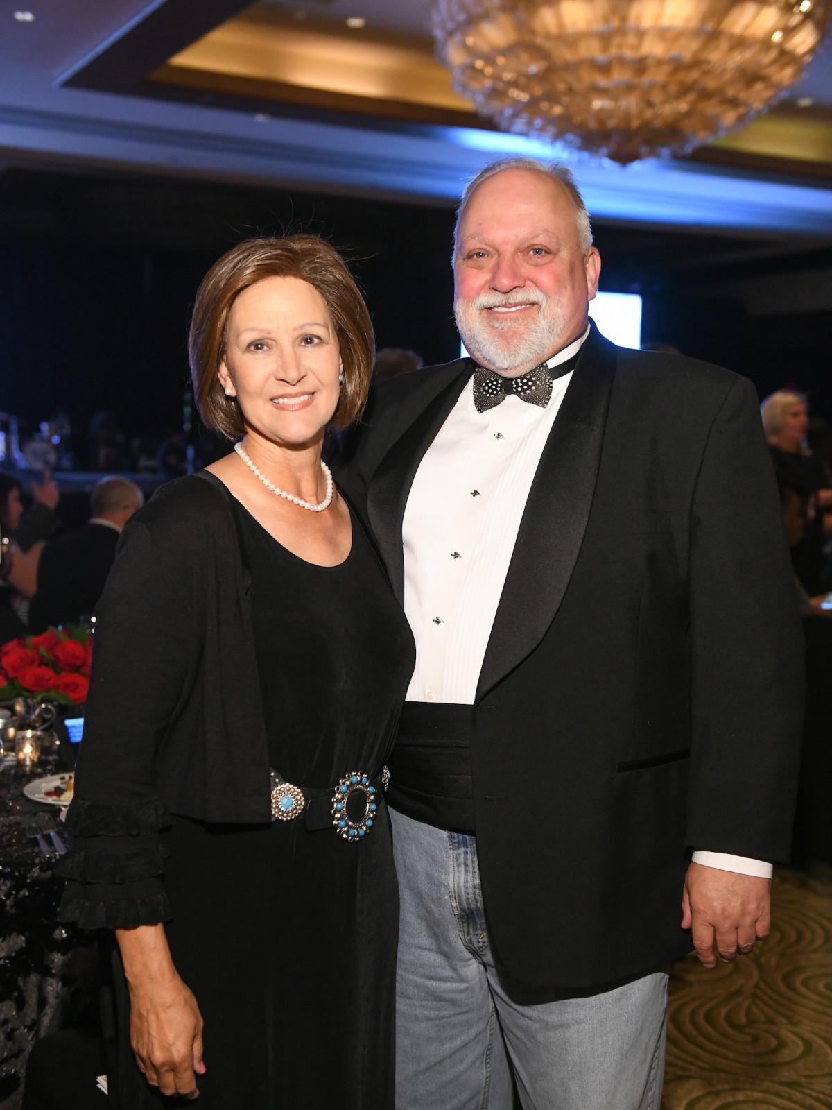 Houston Chuck Norris Elizabeth and John Gibson