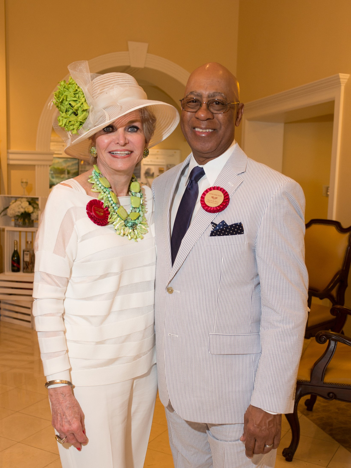 Day at the Races 2018, Carmaleta Whitely, Otis Felton