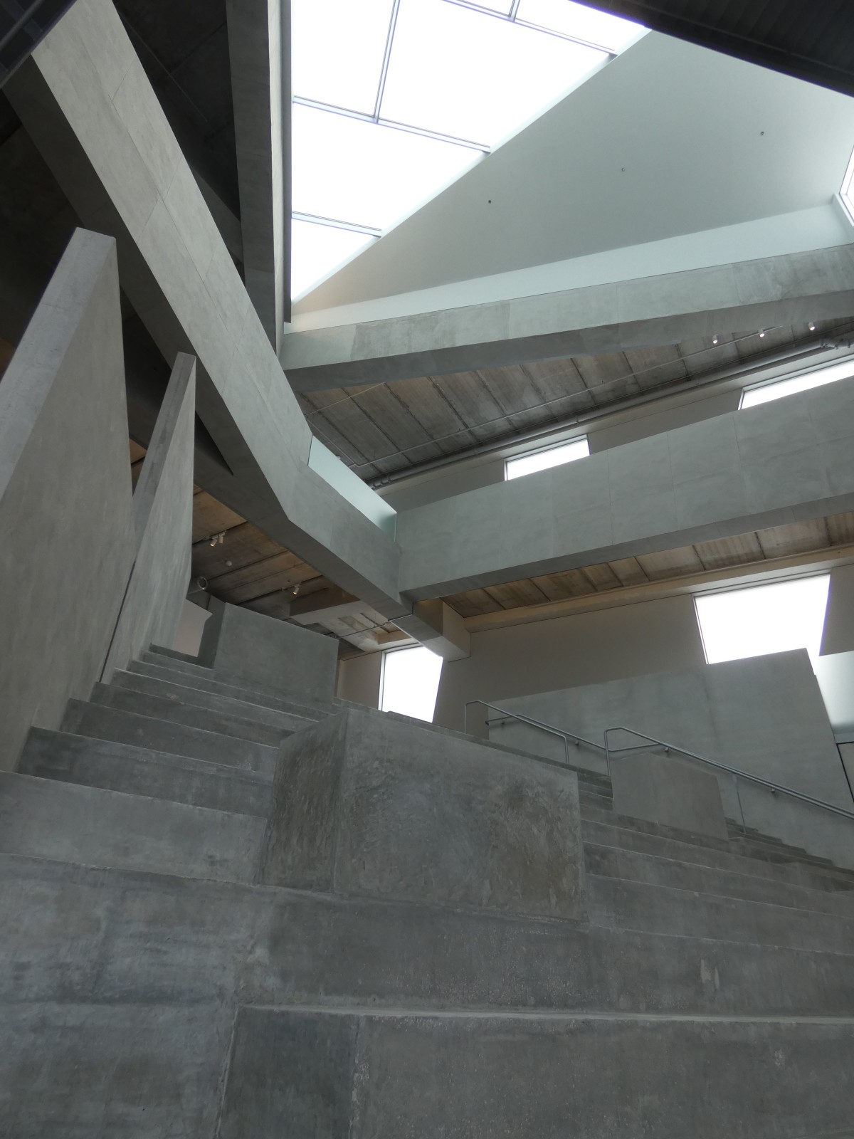 Glassell School central stairway