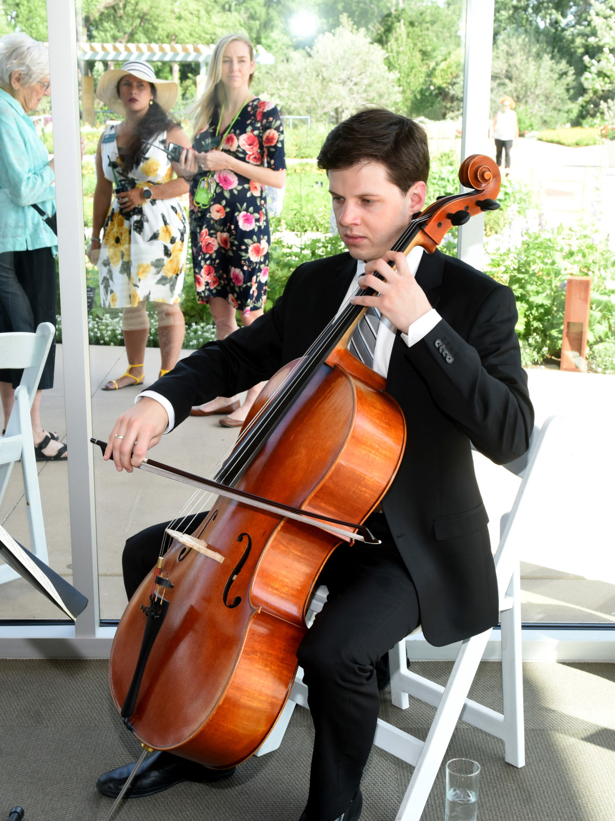 Isaiah Pennington with Bridge the Gap Chamber Players