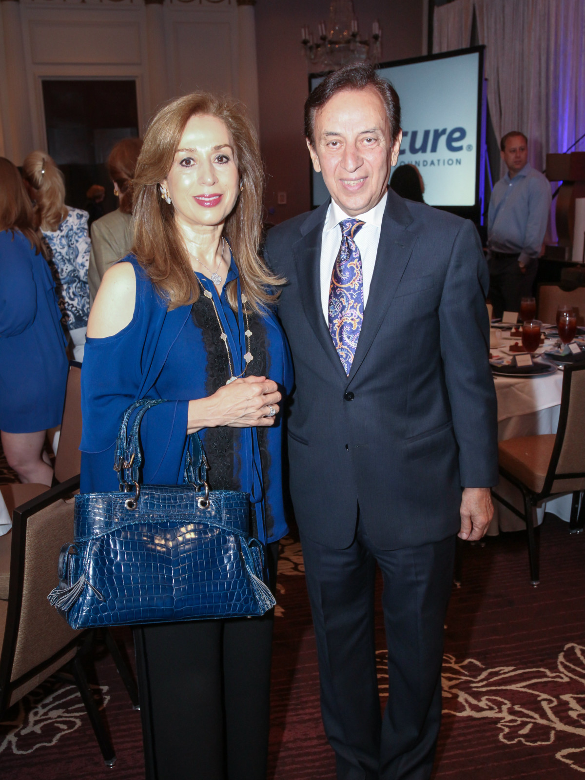 Blue Cure Roya and Massoud Taghdisi