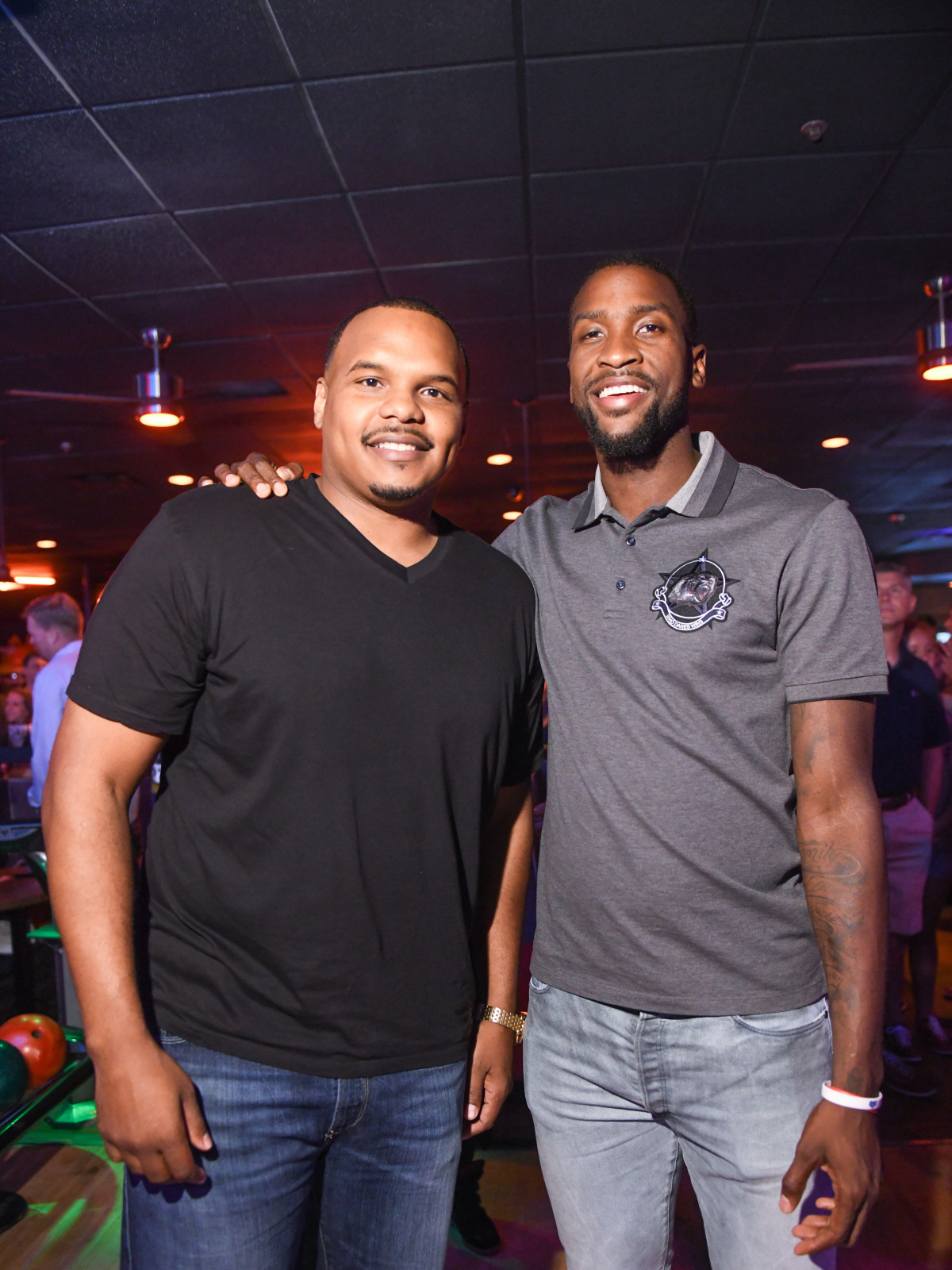 Chester Pitts and Michael Kidd-Gilchrist