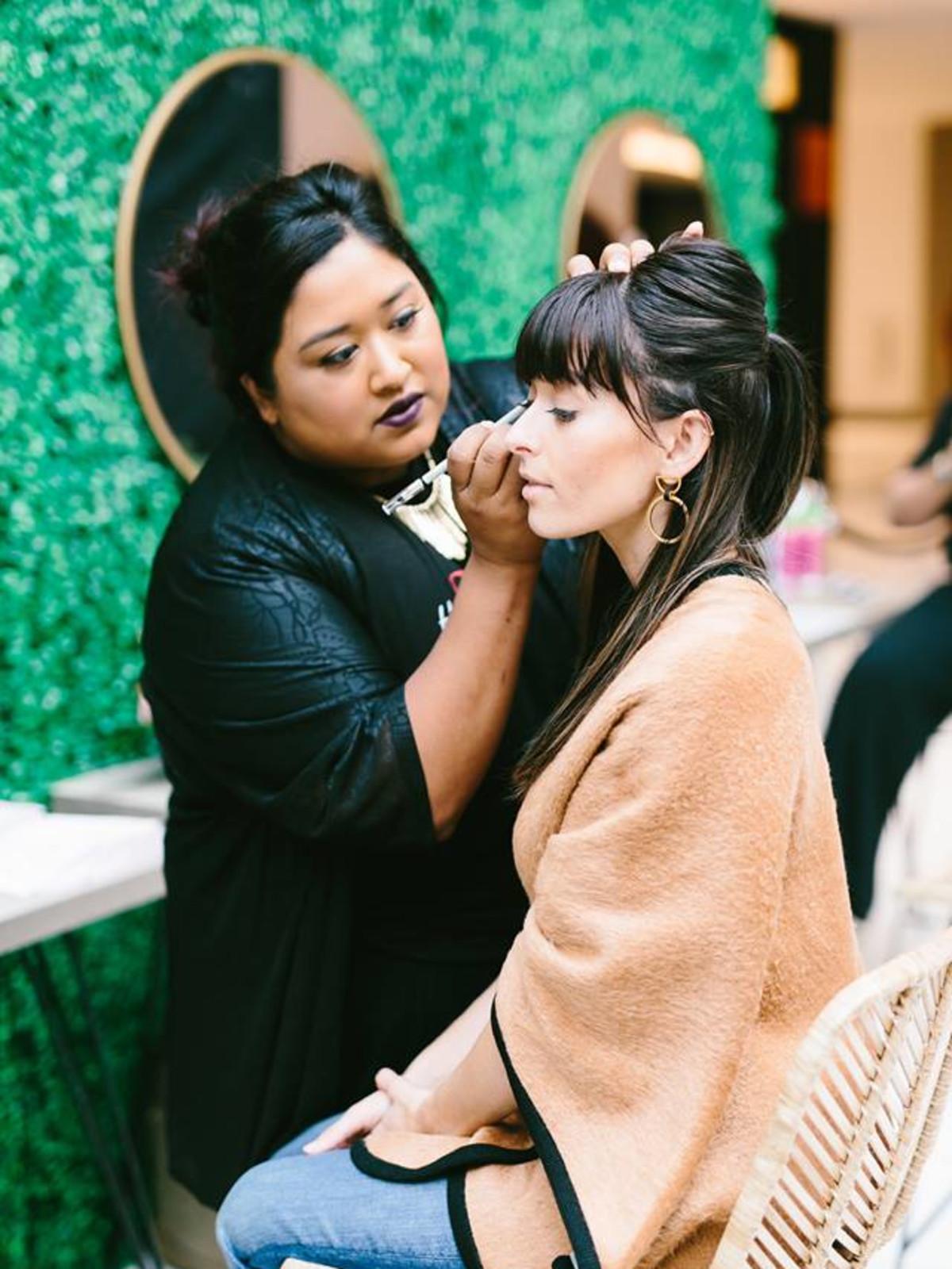 Woman makeup summit style