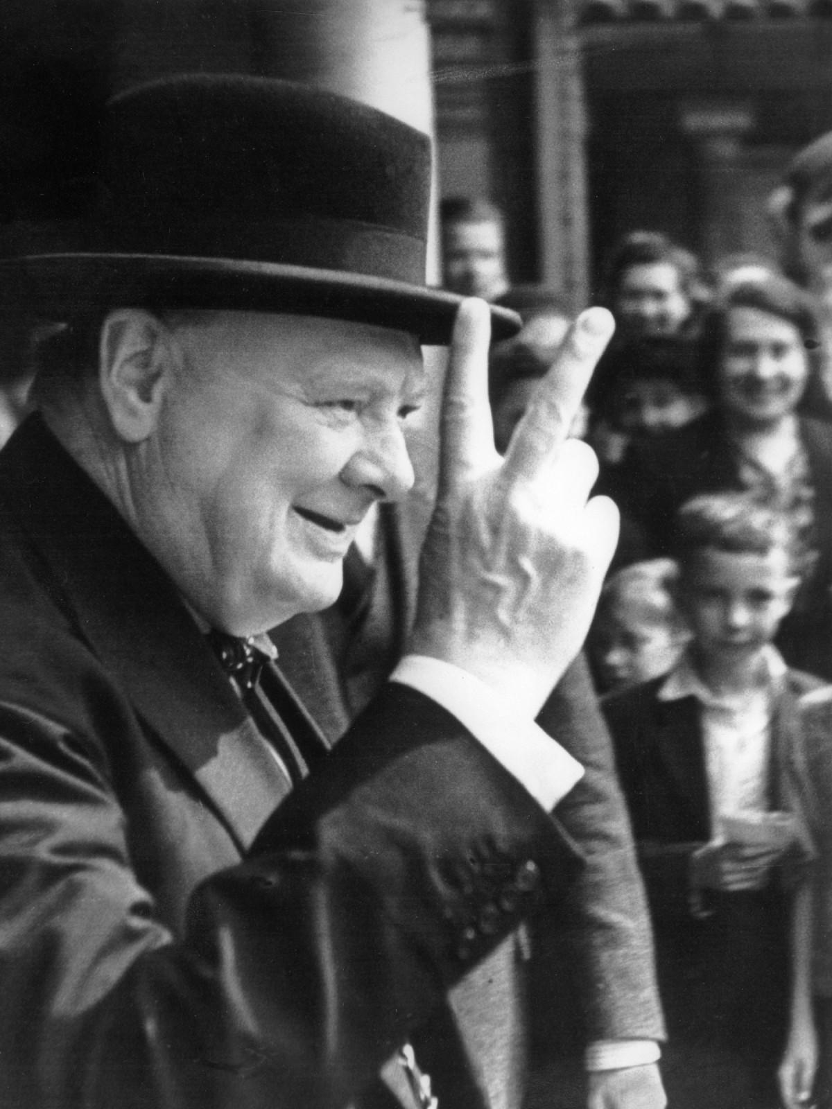 MFAH Royal Portraits Winston Churchill