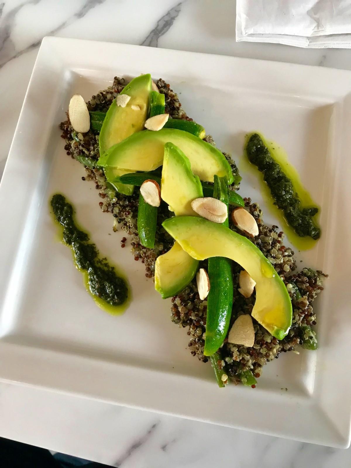 Neo Baguette quinoa avocado salad