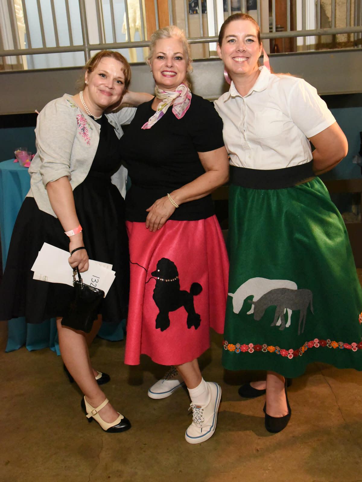 Darlene Schneider, Yvette Grove, Bonnie Cooley
