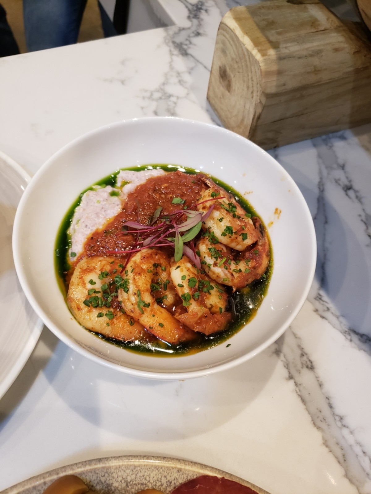 Alice's Treaty Oak shrimp grits