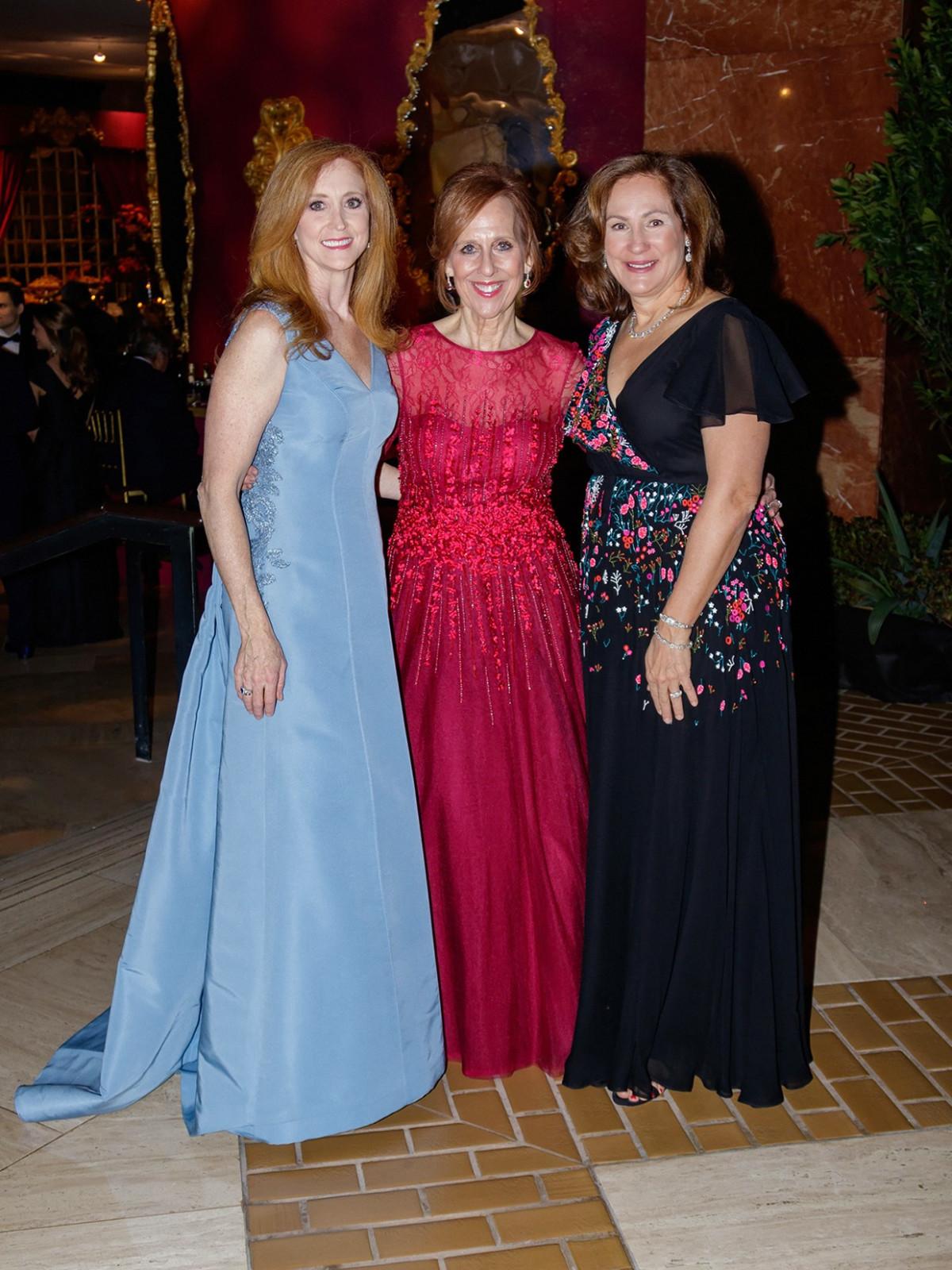 Tiffany Divis, Susan Farris, Tucker Enthoven
