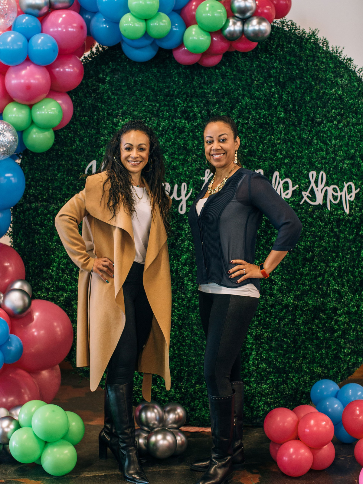 Lani Warren, Cicely Laing, CultureMap Holiday Pop-Up Shop
