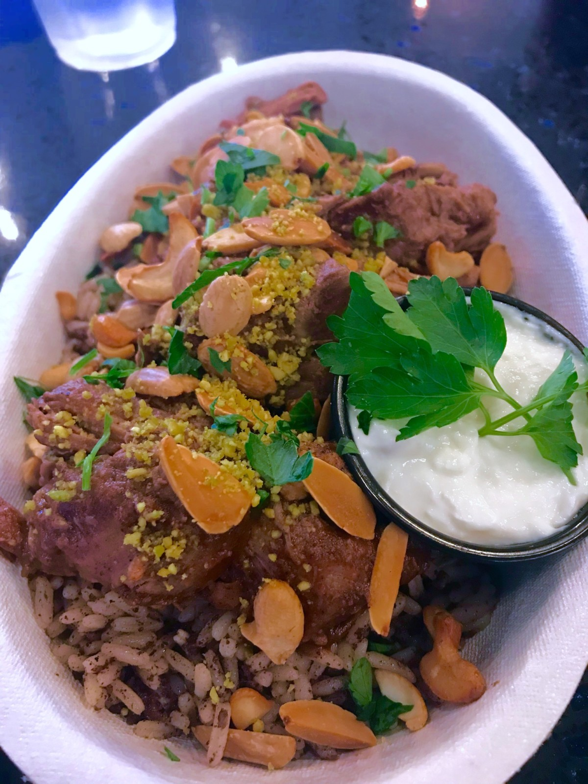 Fadi's Museum District lamb and rice