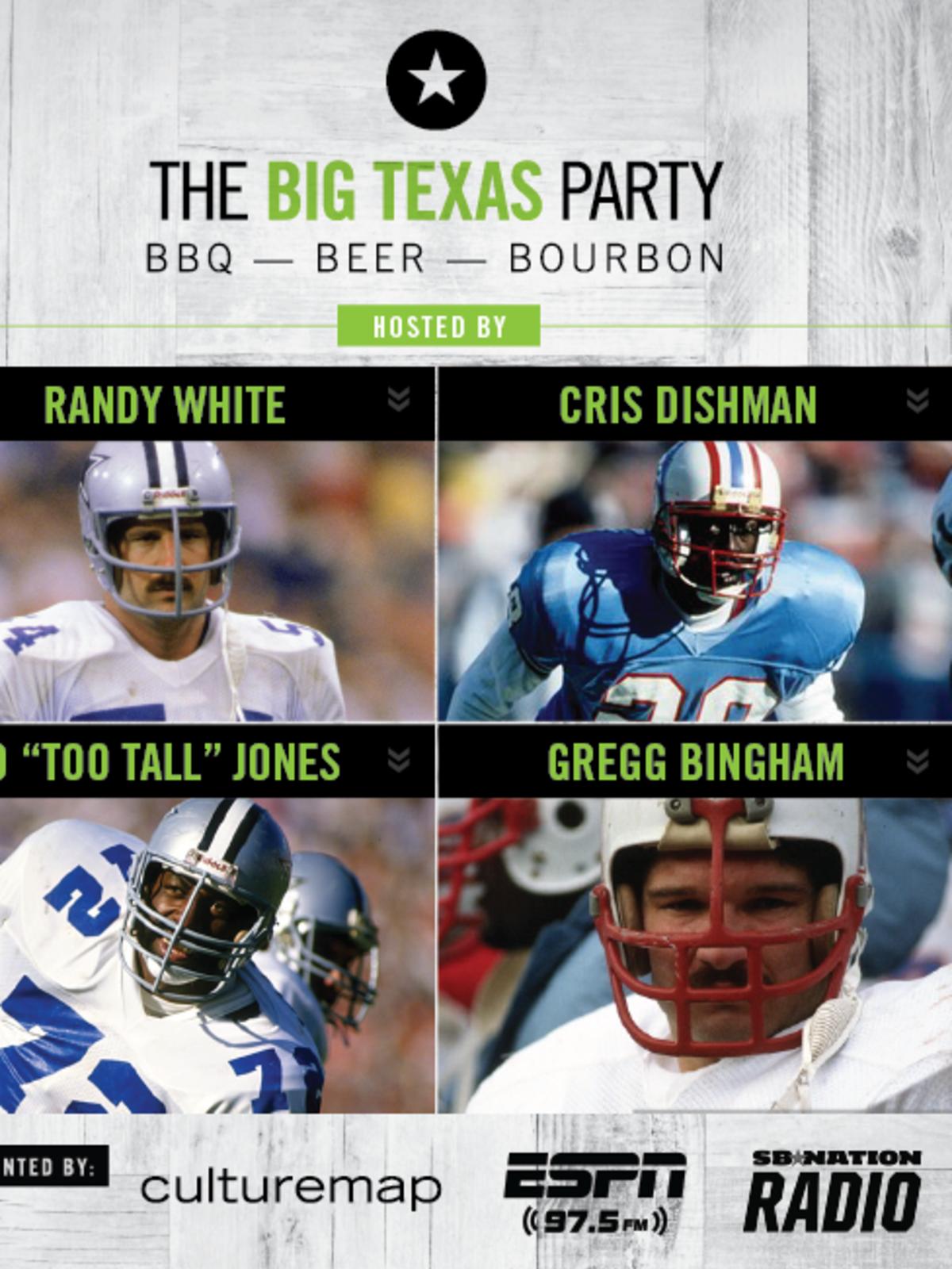 Big Texas Party hosts