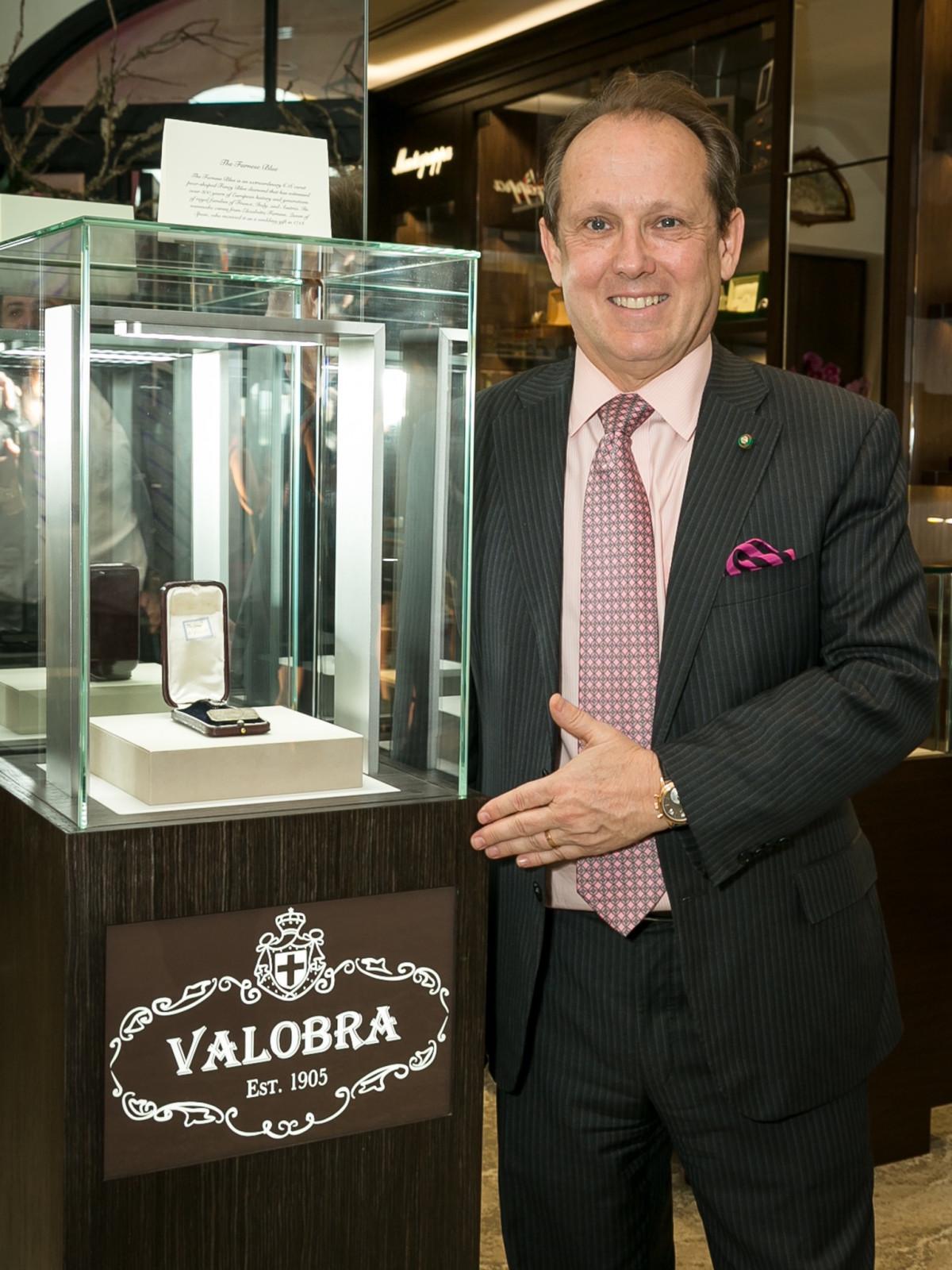 Valobra grand opening party Franco Valobra
