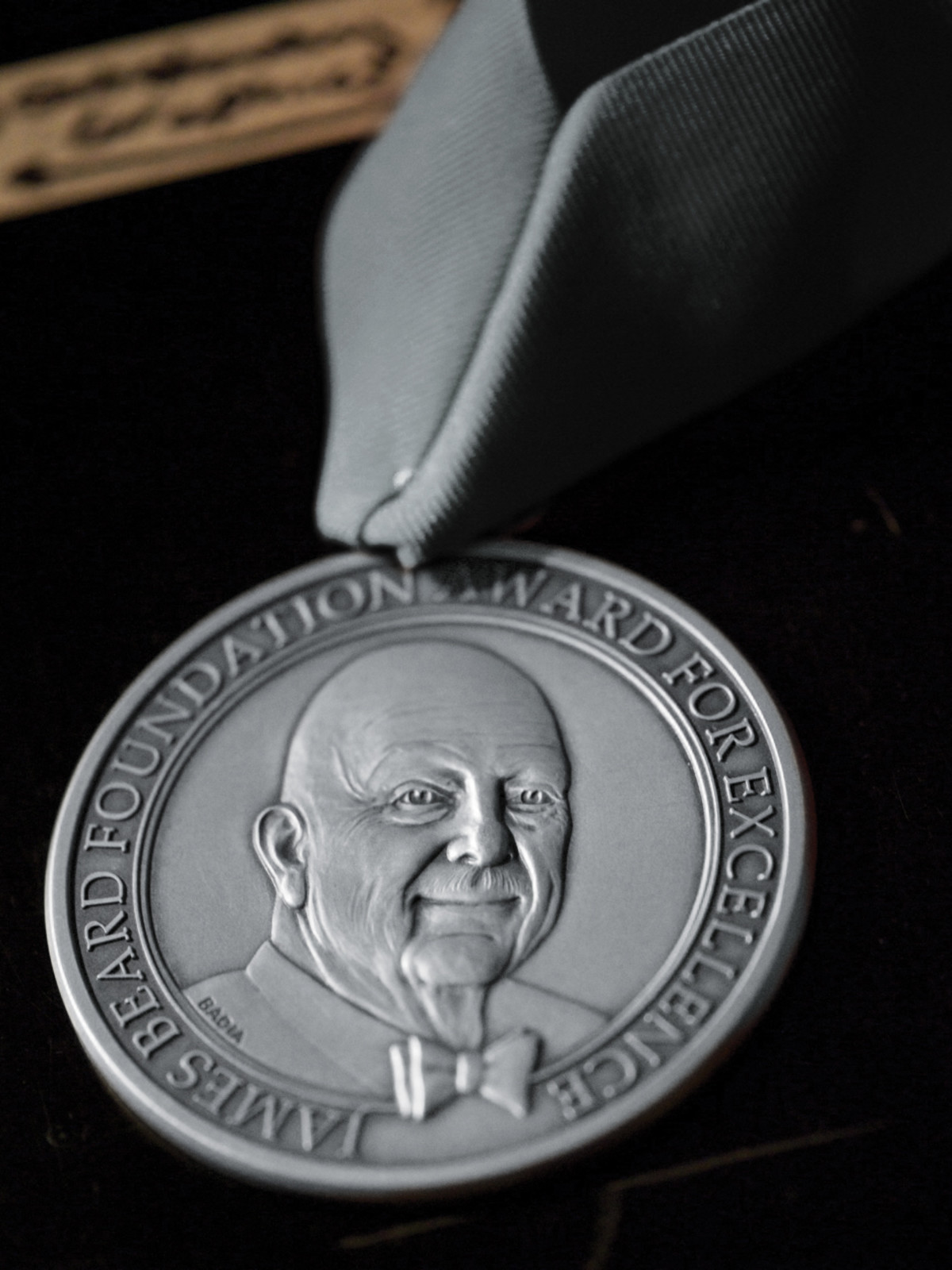 James Beard Foundation Award medal
