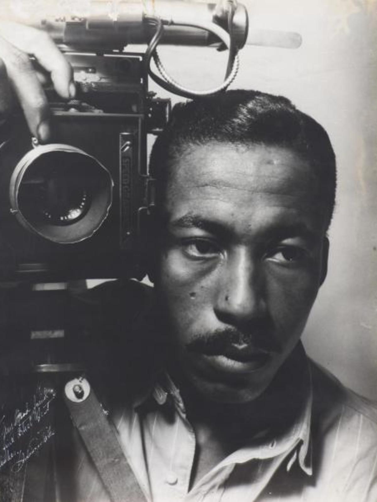 Gordon Parks (1912–2006)  Self-Portrait, 1941  gelatin silver print