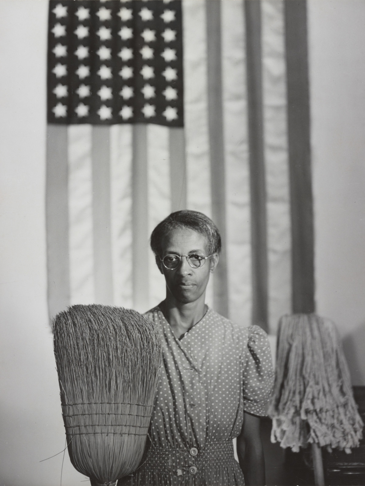 Washington, D.C. Government charwoman Gordon Parks (1912-2006)
