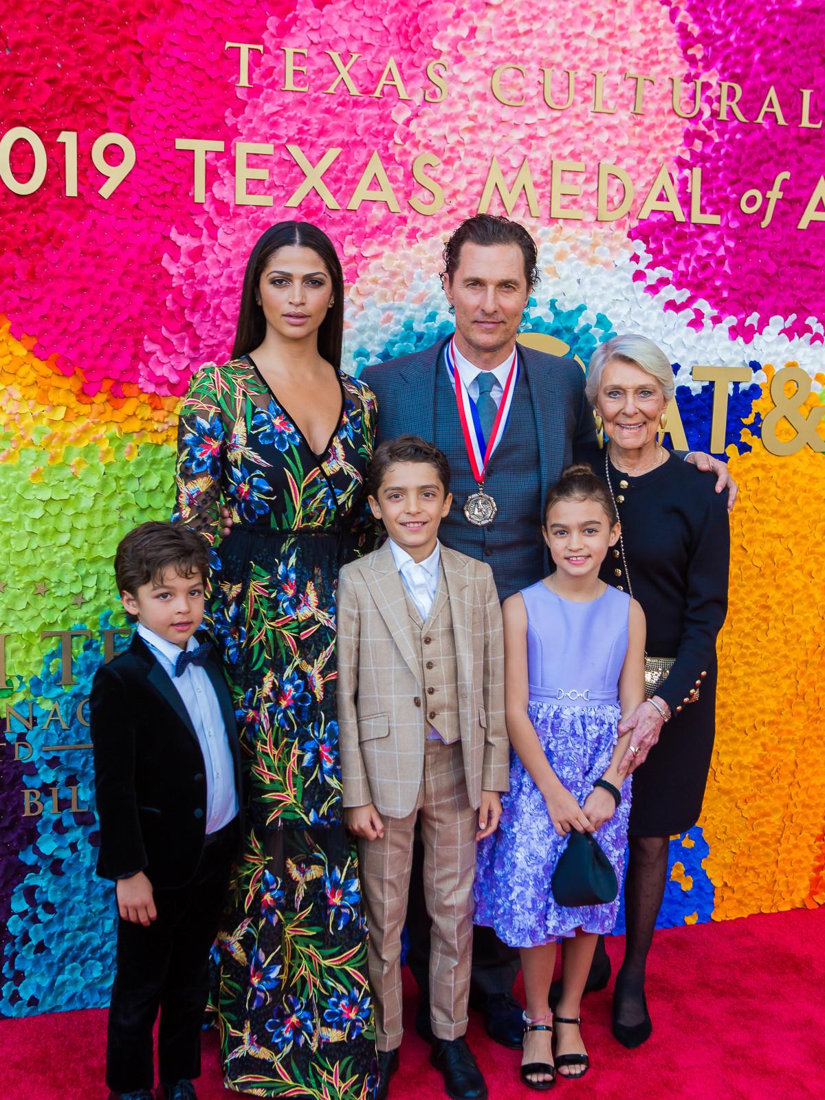 Matthew McConaughey Camila Alves family