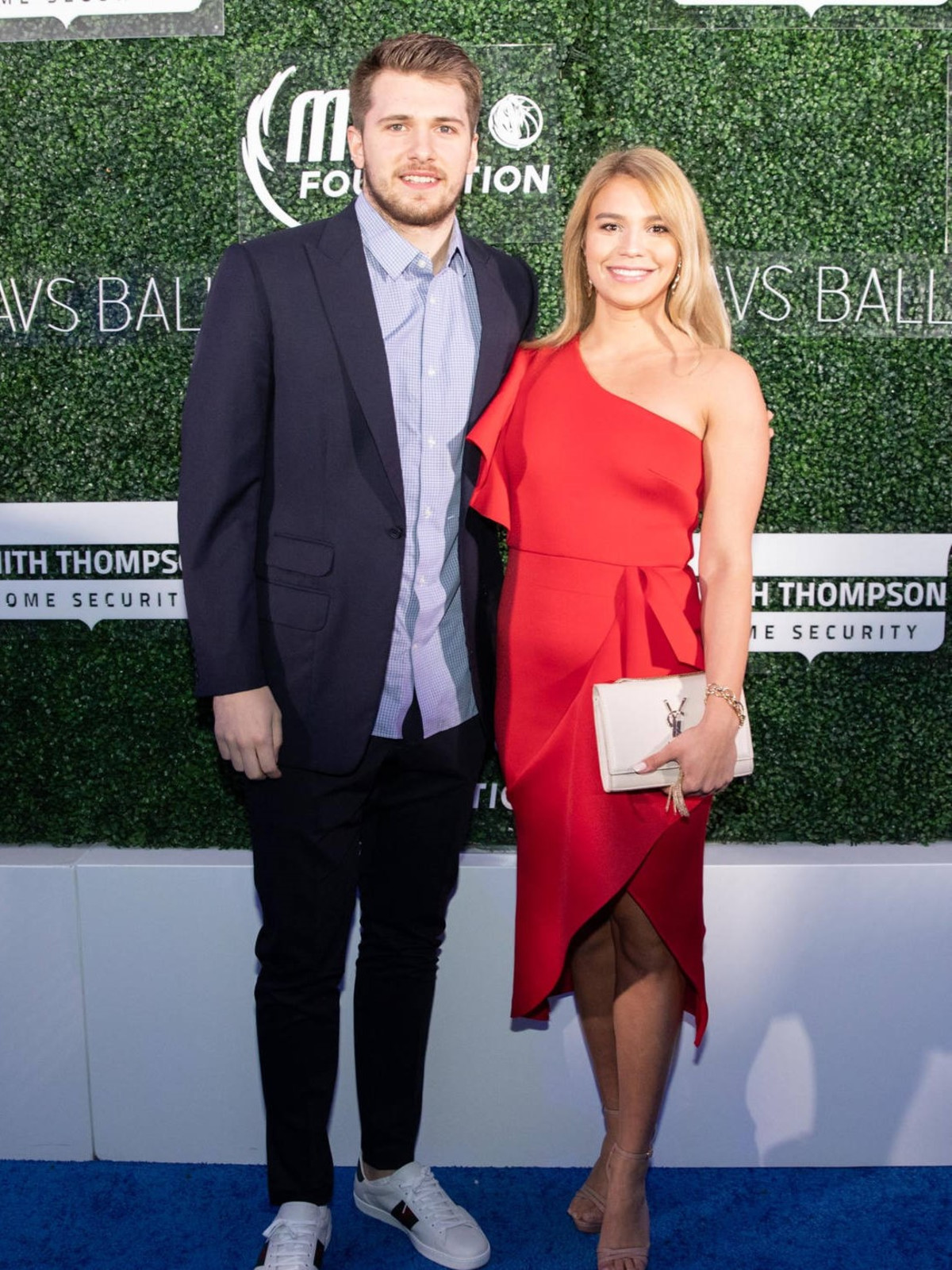 Luka Doncic and girlfriend Anamaria Goltes