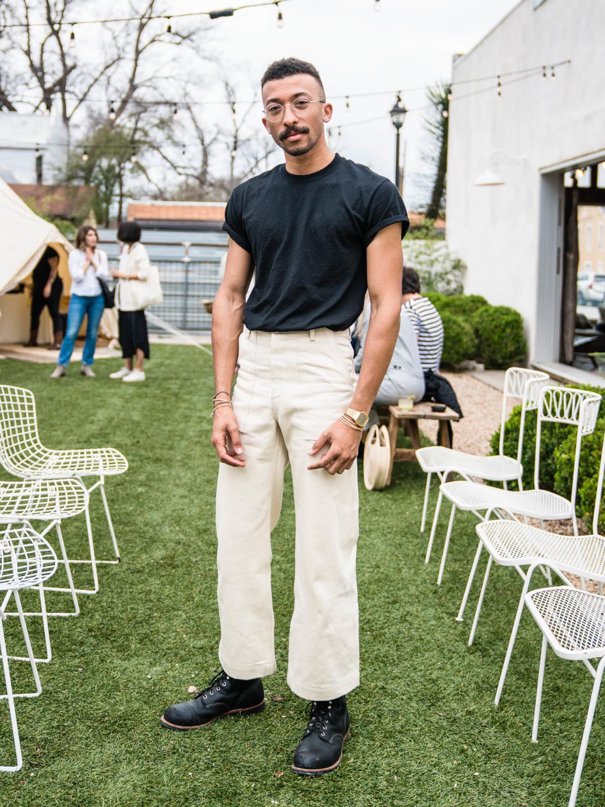 SXSW Street Style 2019 Langston Dillard