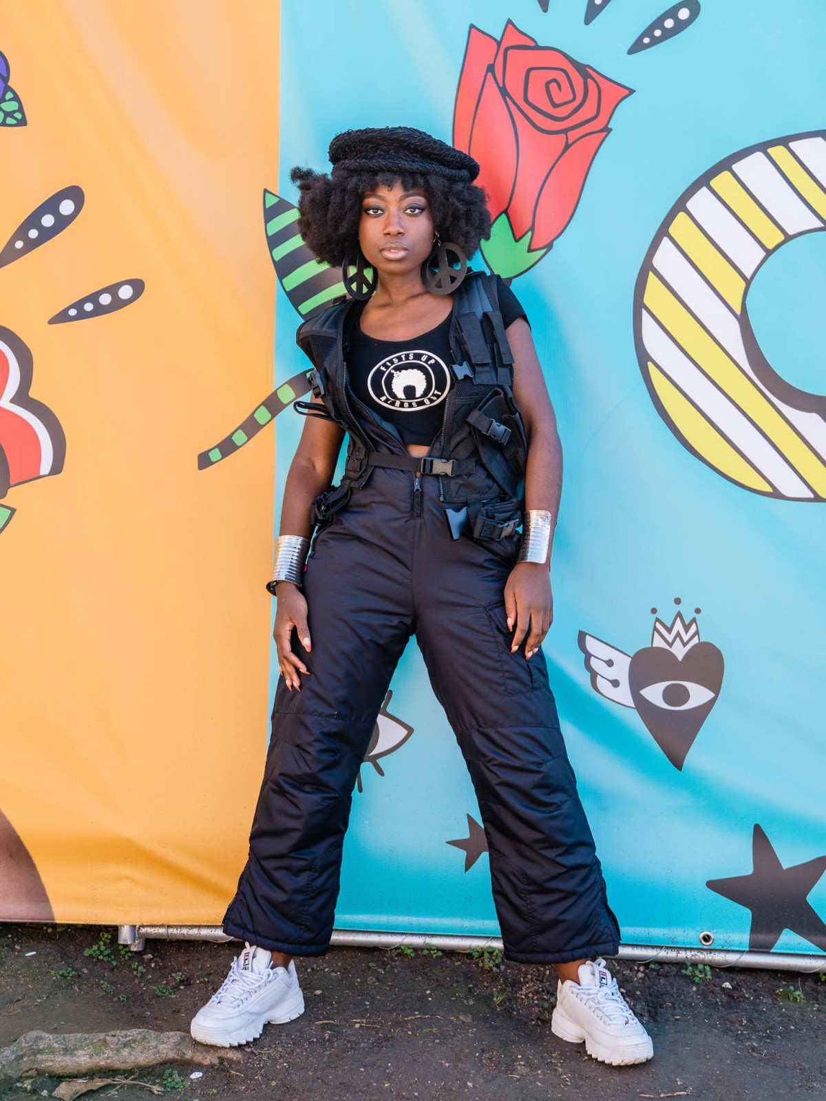 SXSW Street Style 2019 Hazel Dennis Black Haze