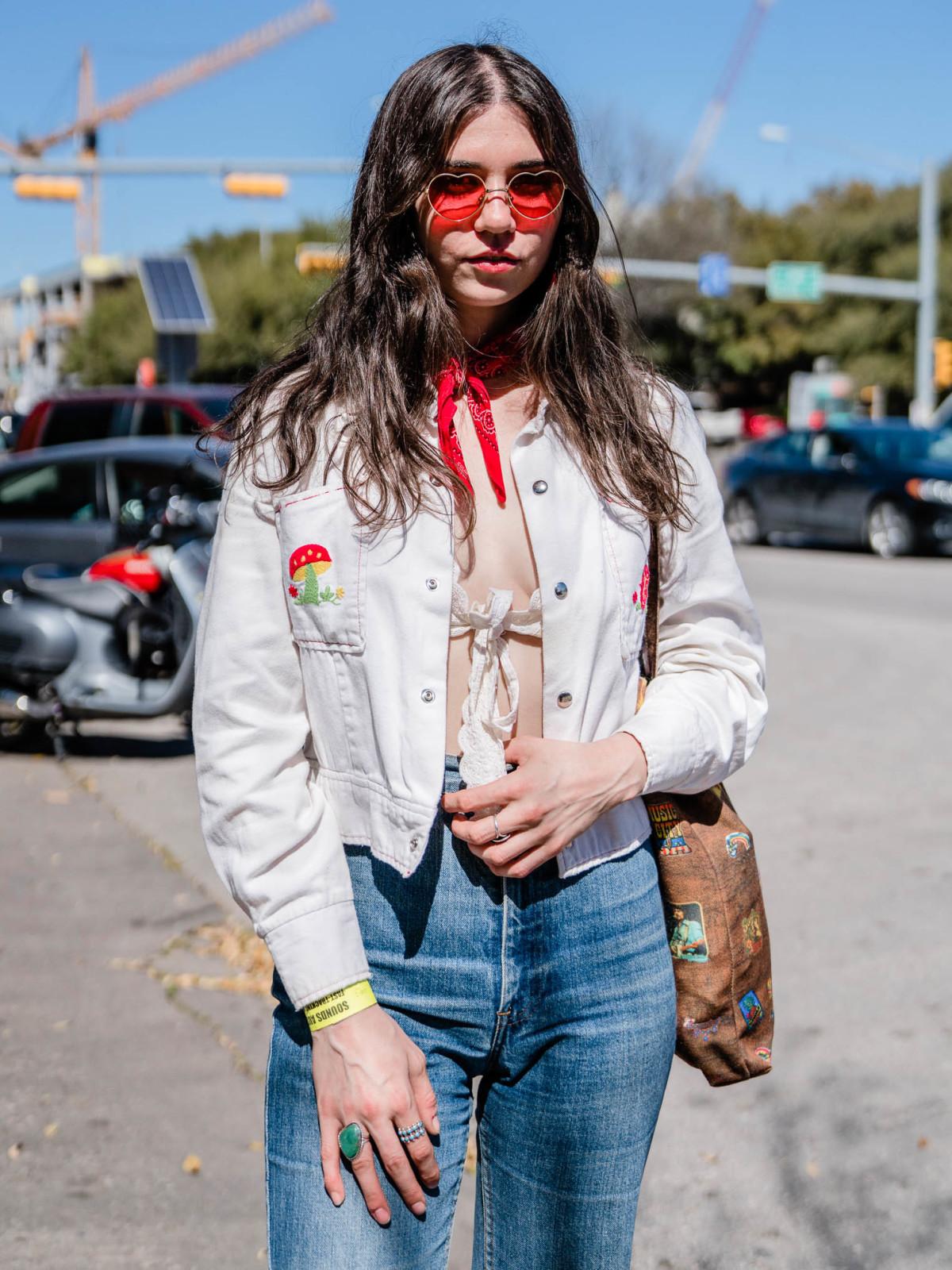 SXSW Street Style 2019 Pearl Charles