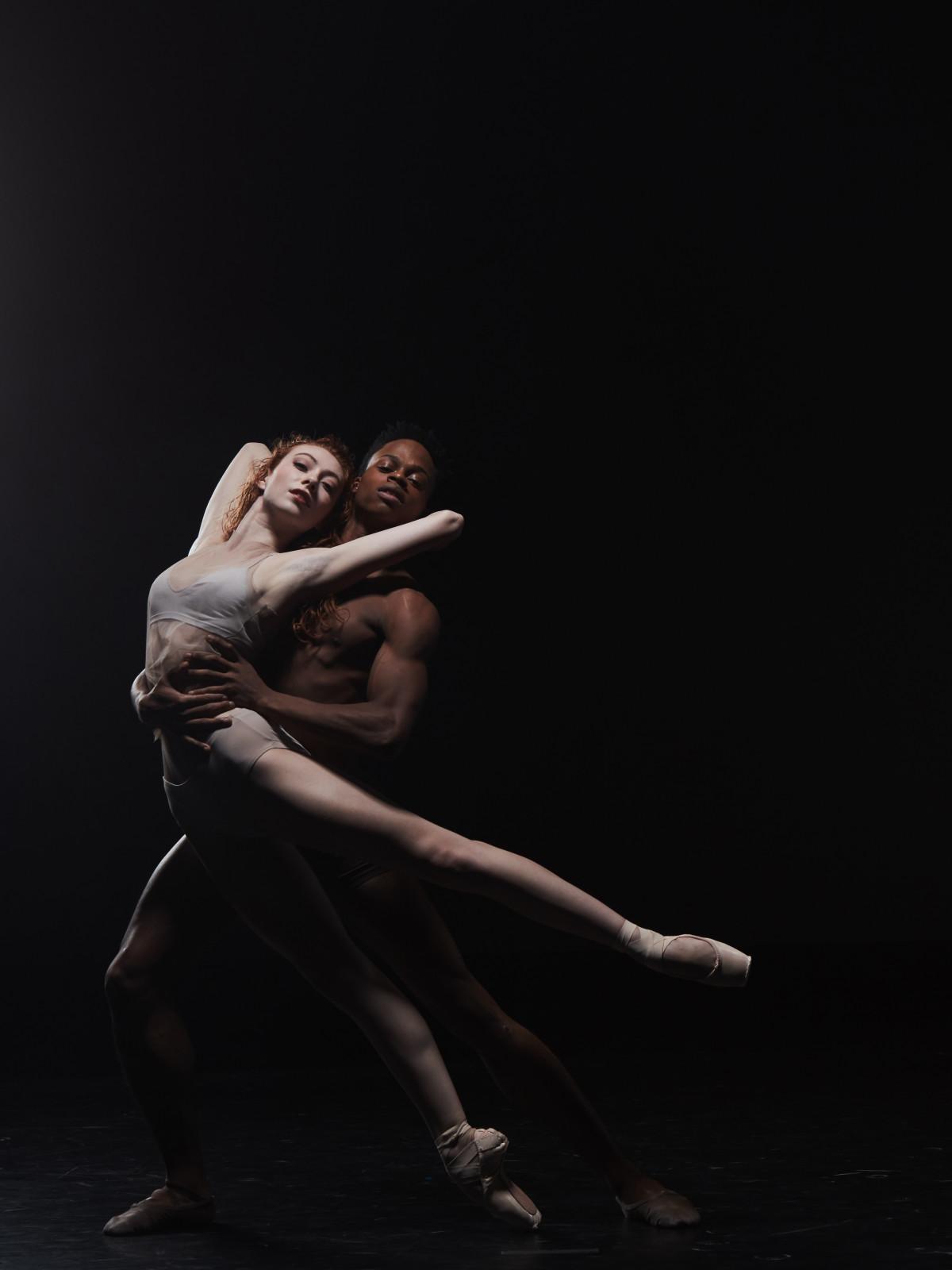 Houston Ballet: Premieres, Soloist Alyssa Springer and Corps de Ballet Naazir Muhuammad