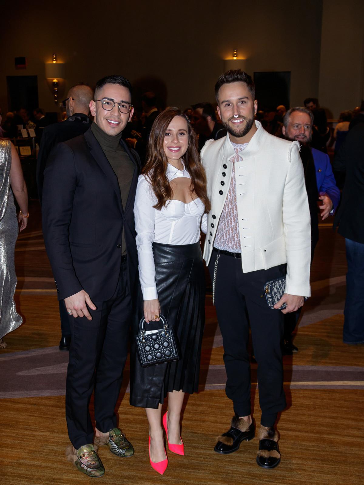 Julian Garfio, Megan Delgado, Jake Walton