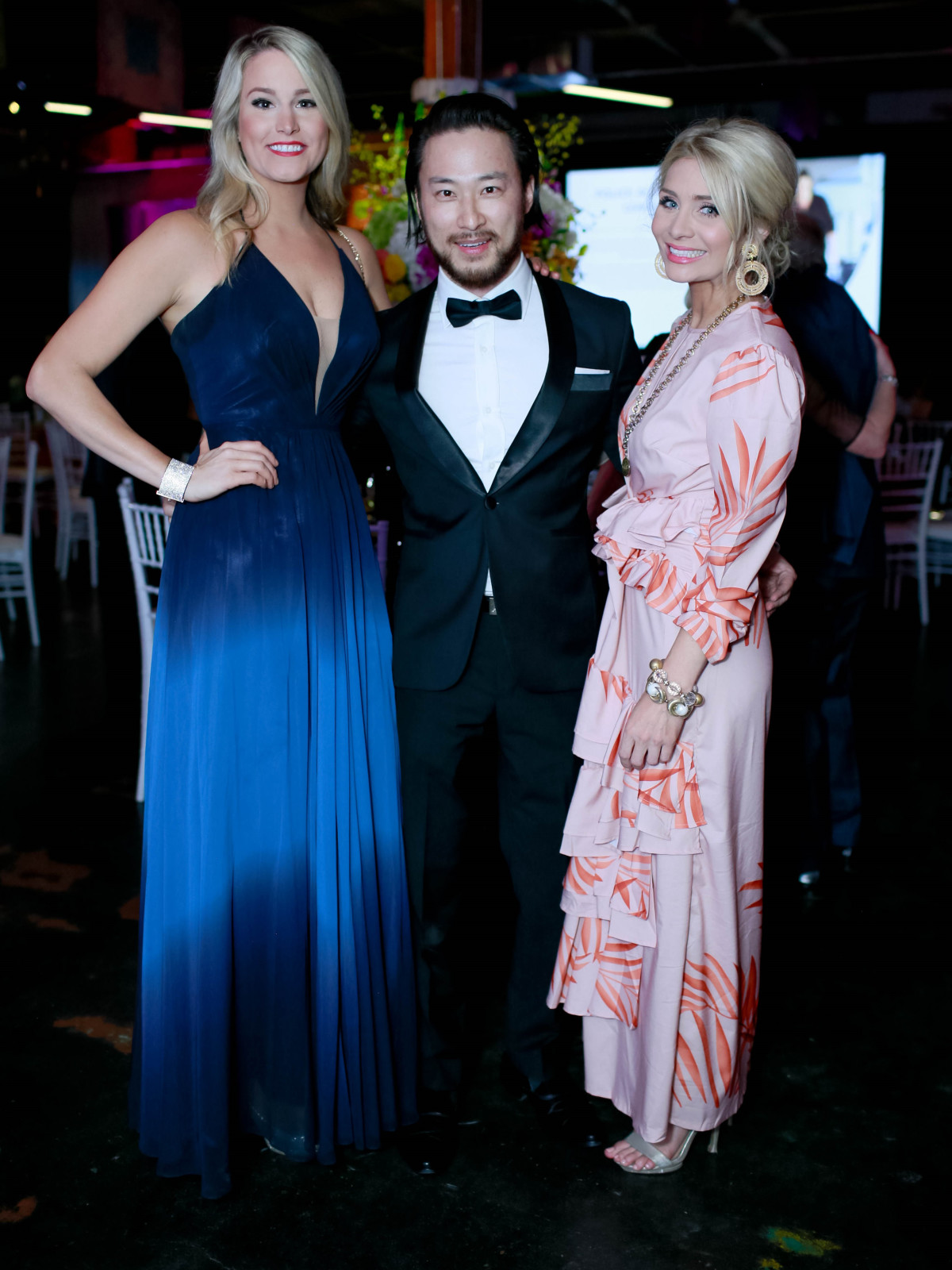 Carolyn Tanner, Alvin Wong and Natalie Westbrook