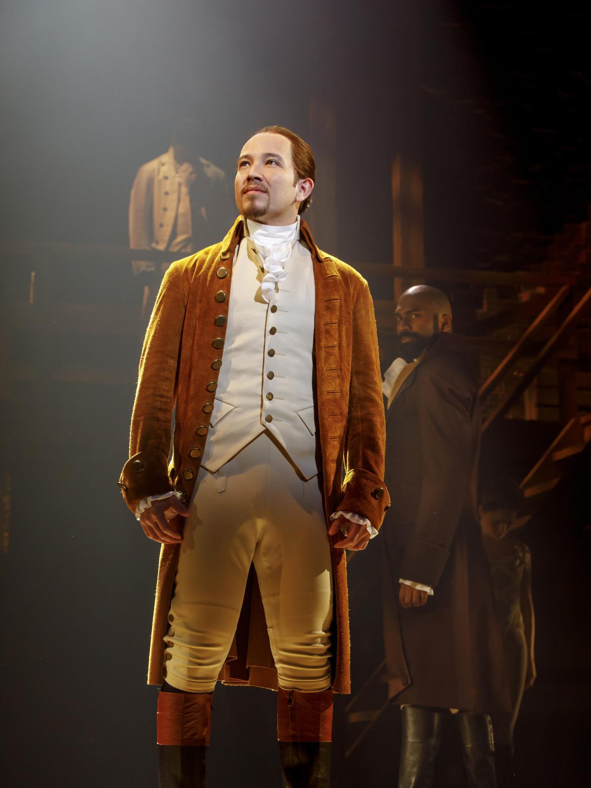 Joseph Morales in Hamilton national tour