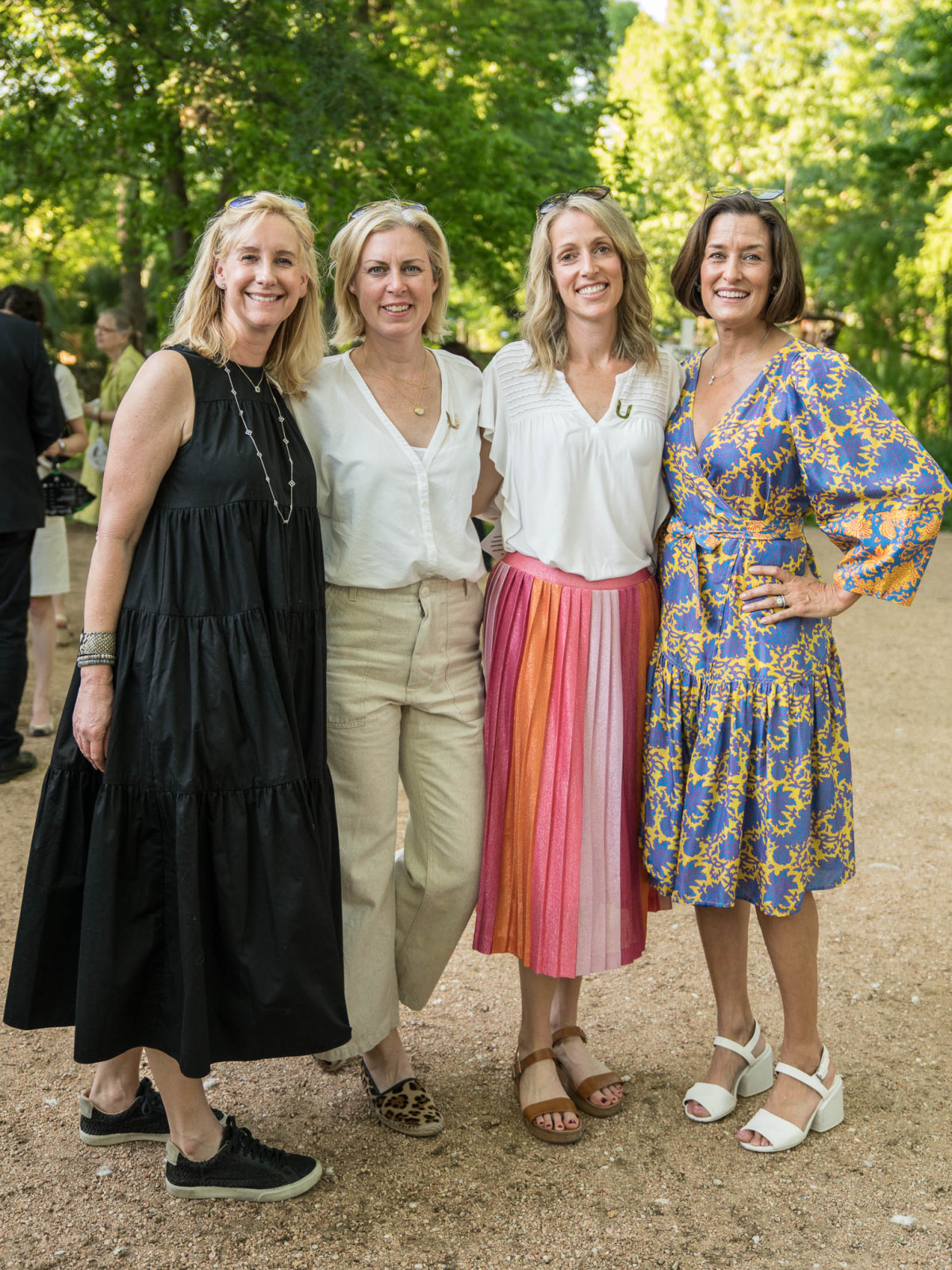 Umlauf Garden Party 2019 Alison Edwards Ali Reyna Ragan Melton Frances Thompson