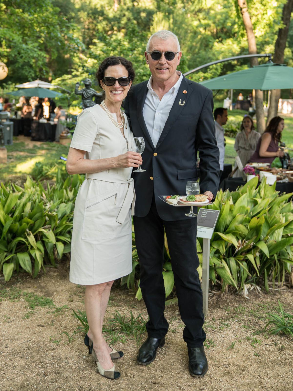 Umlauf Garden Party 2019 JoAnn Sciarrino Frederick Schmid
