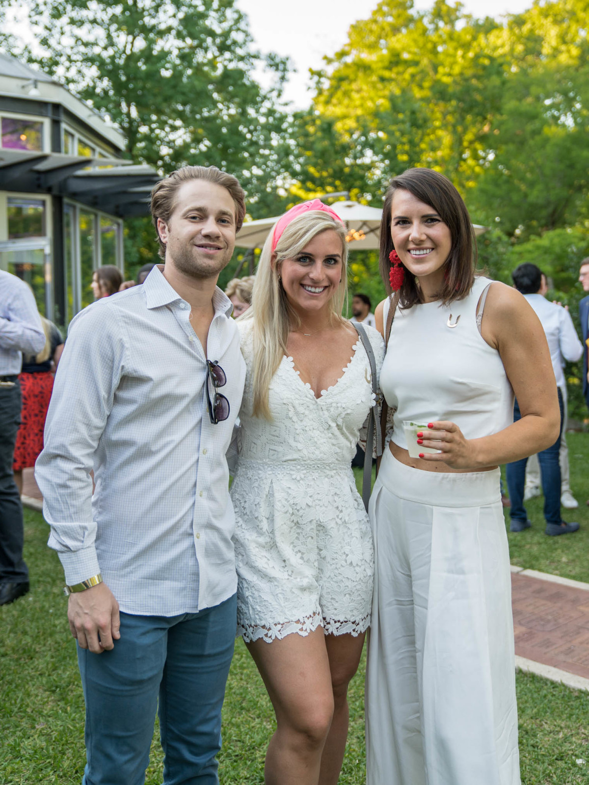 Umlauf Garden Party 2019 Ryan Ambrose Katherine Bible Lauren Schuyler