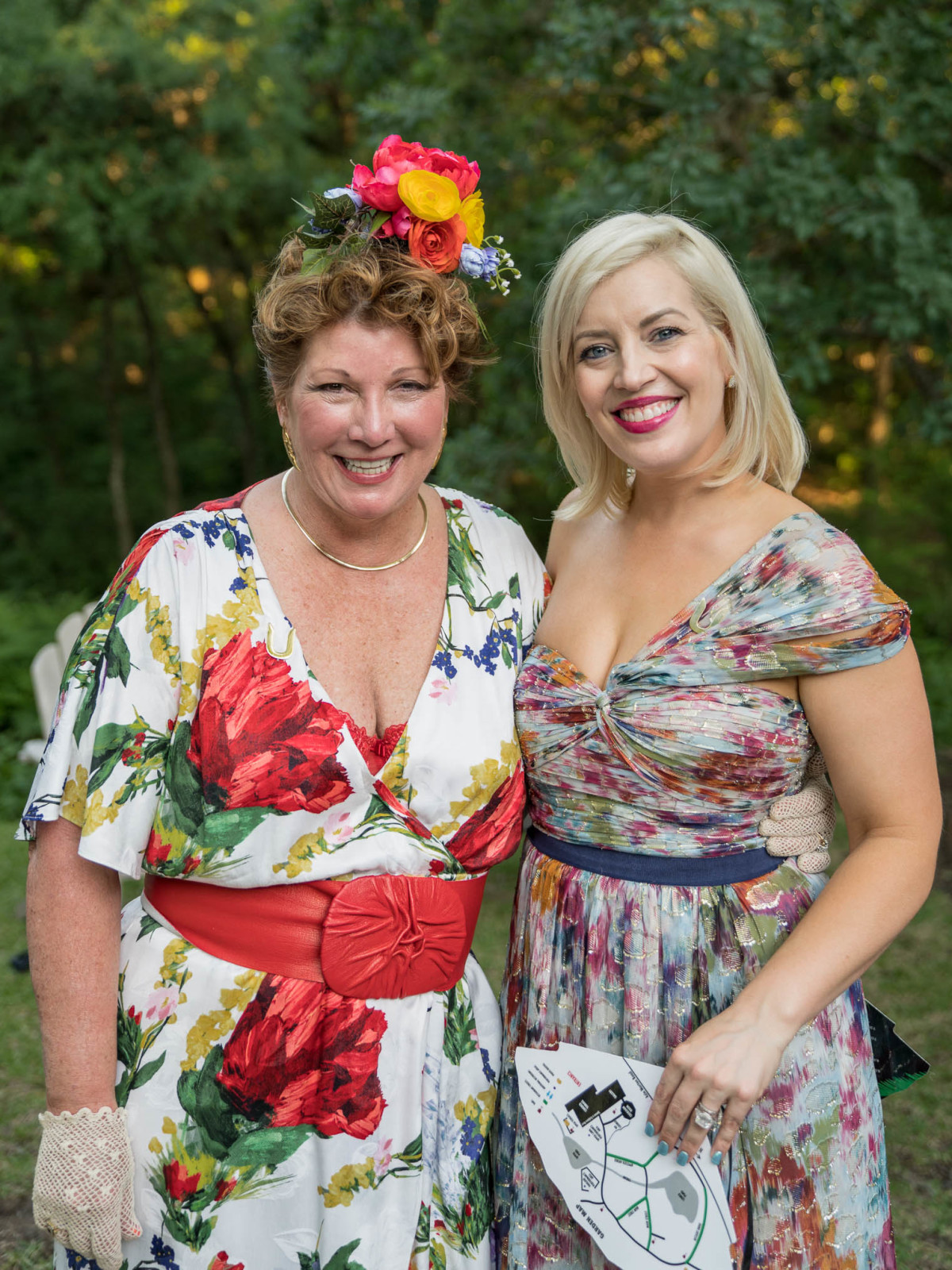 Umlauf Garden Party 2019 Karin Richmond Mila Sarahjane Dailey