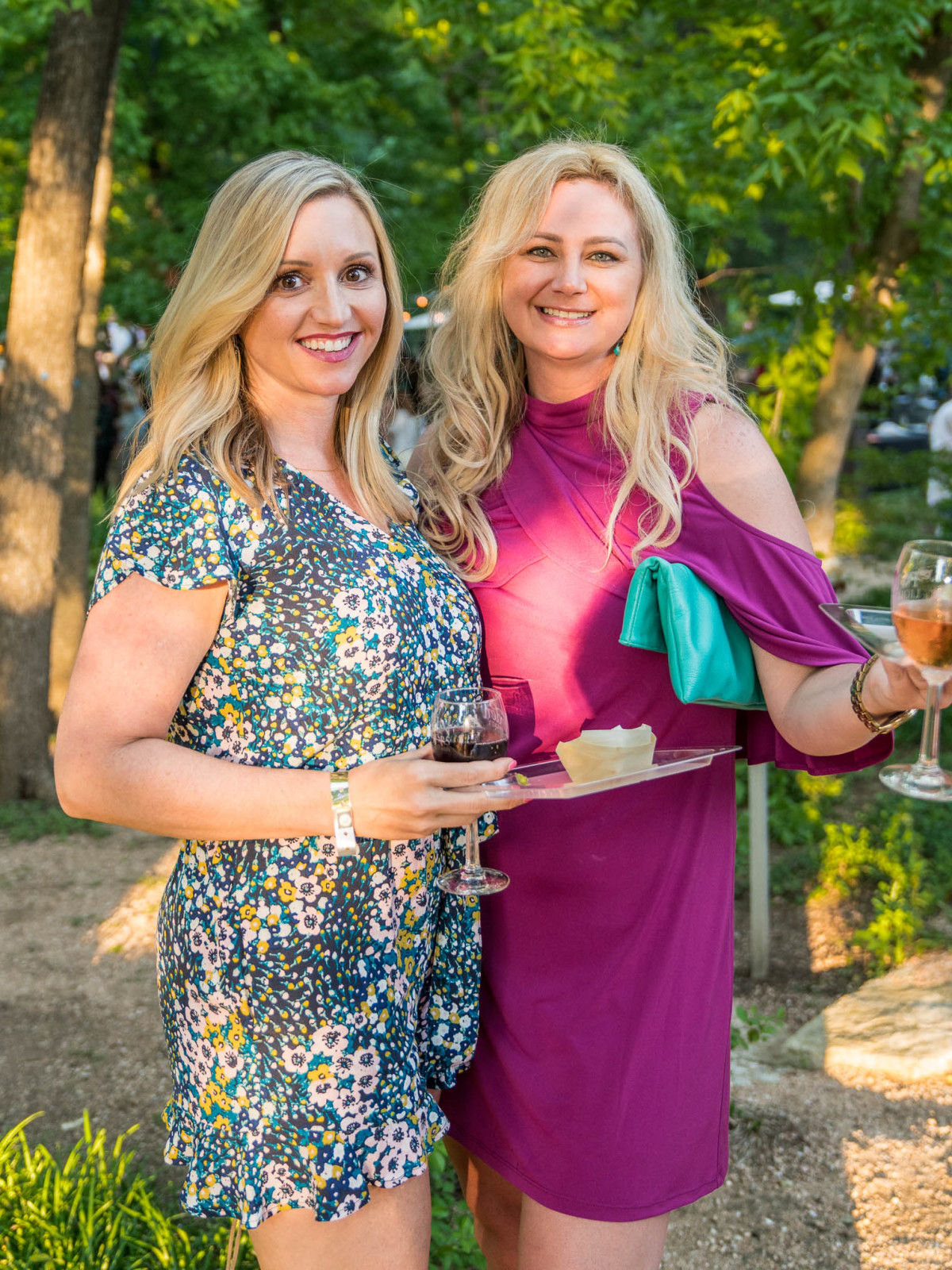 Umlauf Garden Party 2019 Elicia Michaud Courtney Bishop