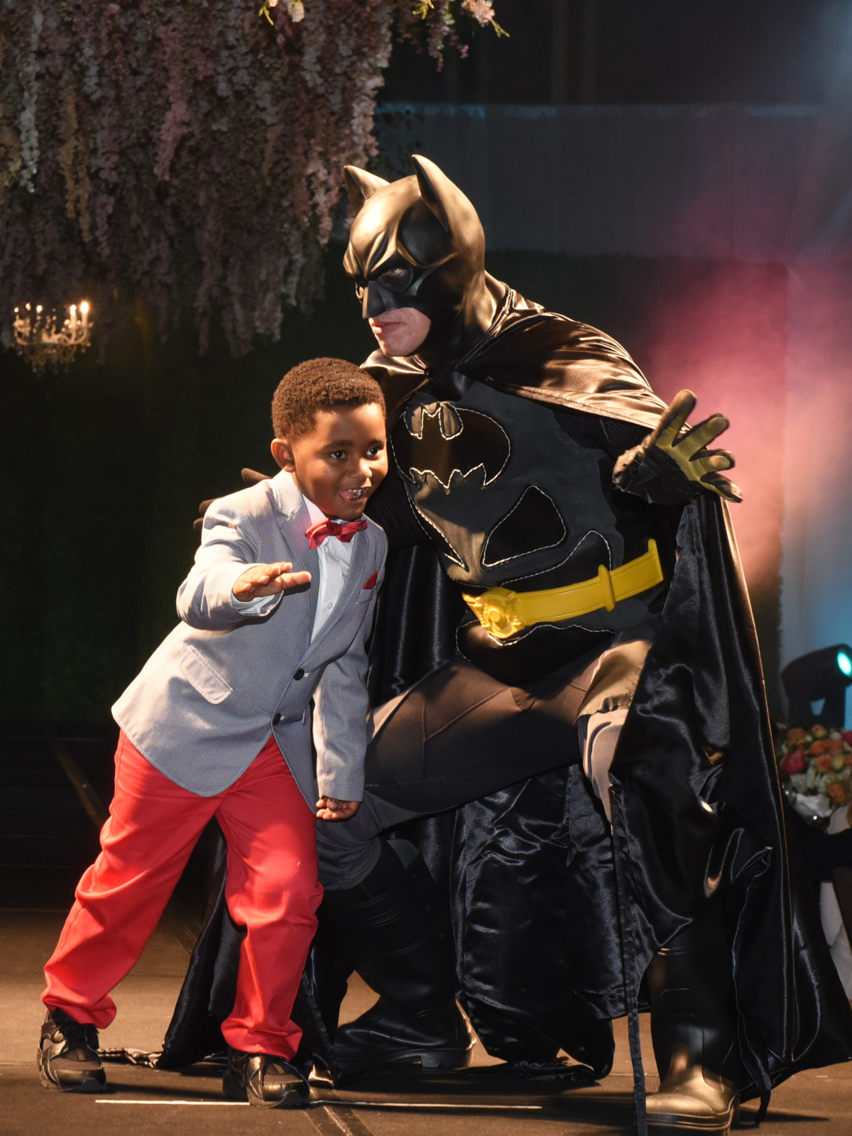 Antoine Wilkerson, 5, of Pittsburg: Batman