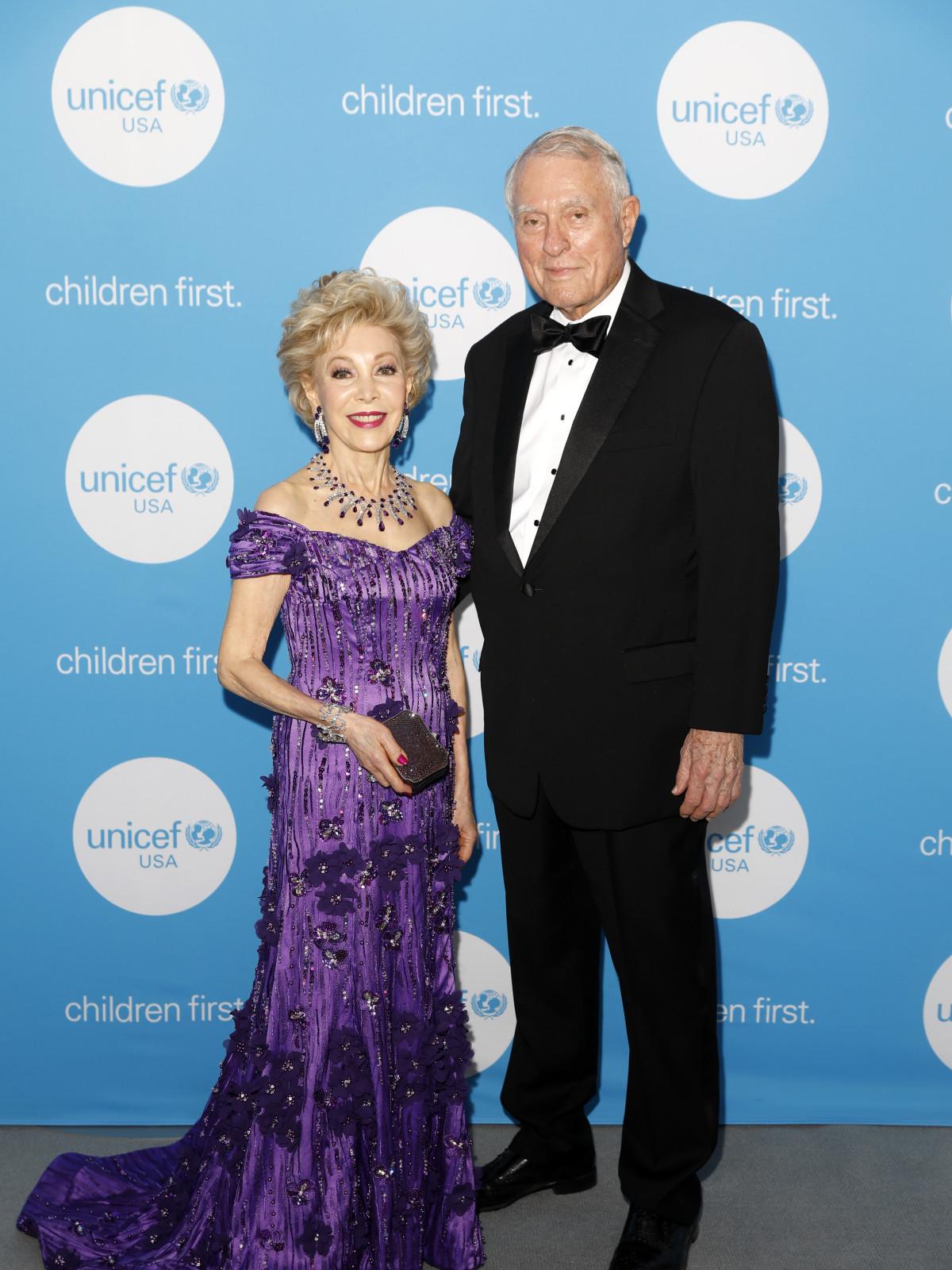 UNICEF Gala Houston 2019 Margaret Alkek Williams and Jim Daniel