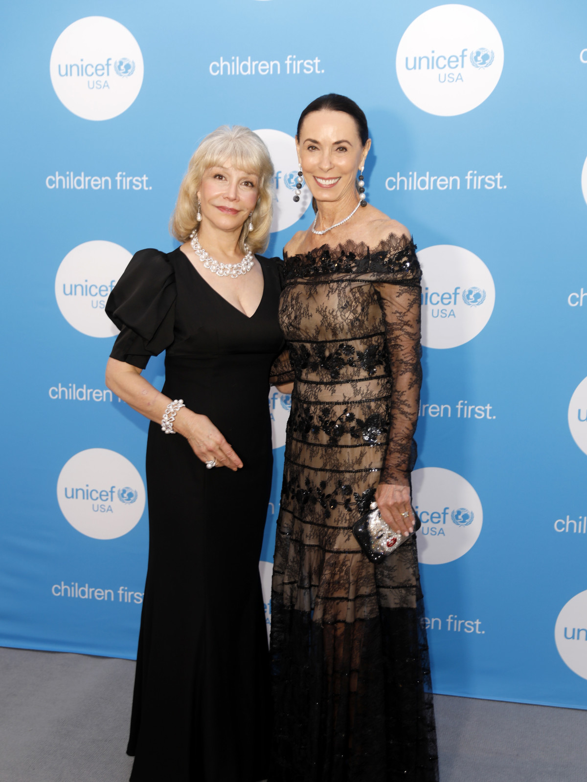 UNICEF Gala Houston 2019 Susan Boggio and Sue Smith