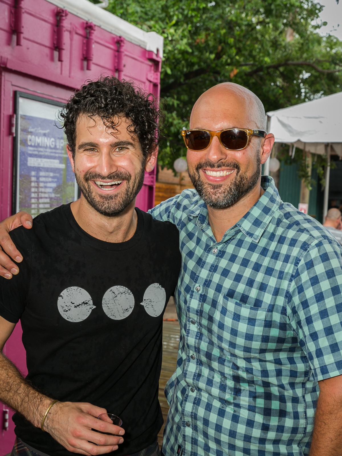 IHWSH father's day cookout Chris Poldoian of Camerata and Gio Lograsso of Uchi