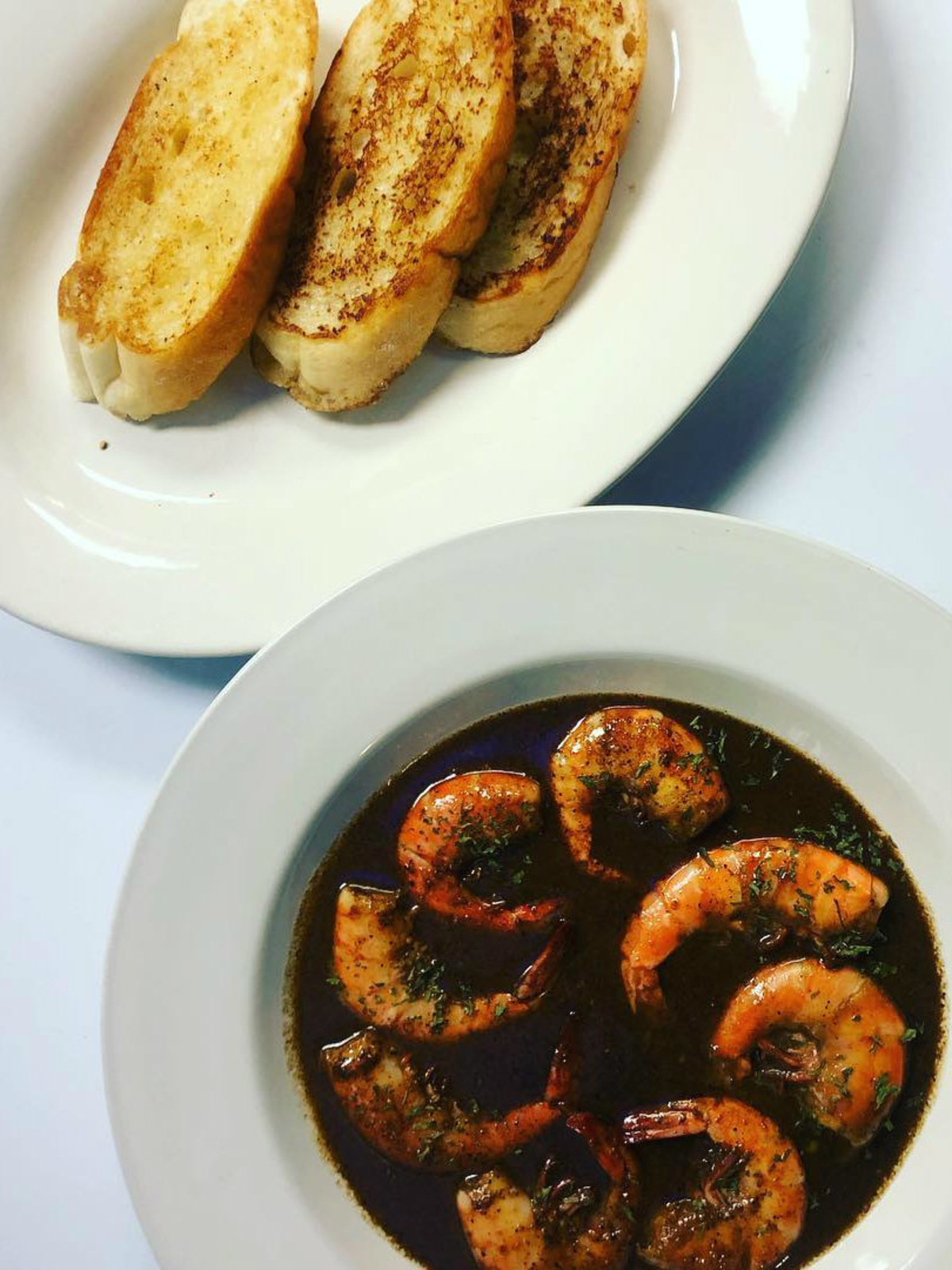 Poppy's Southern Recipes barbecue shrimp